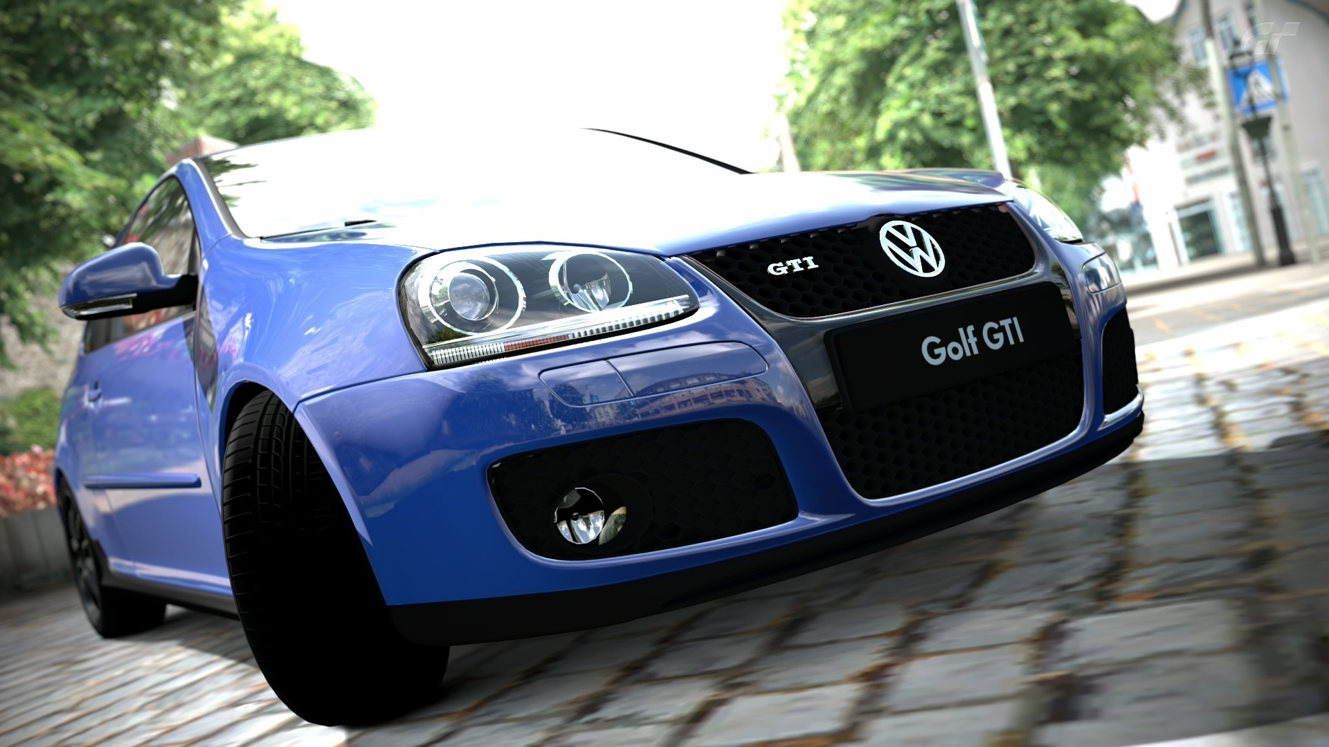 video games blue cars HD Wallpaper