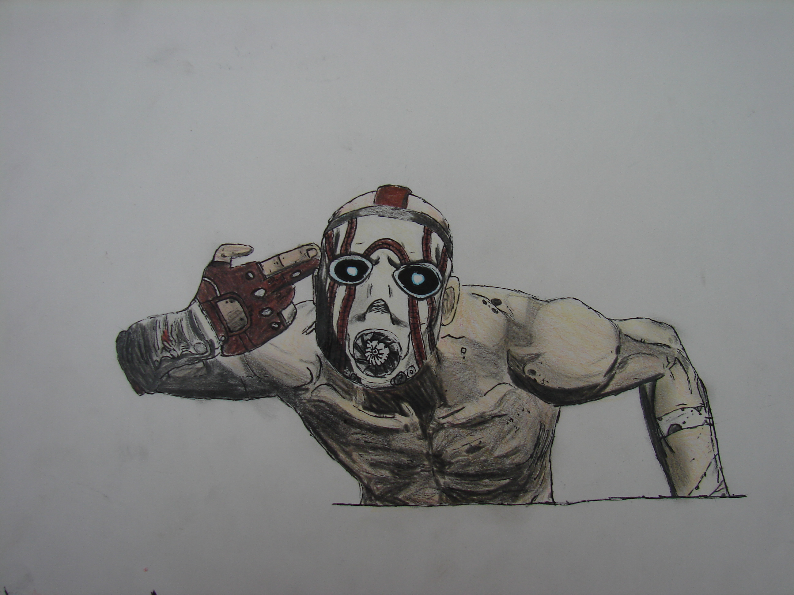 video games borderlands fan HD Wallpaper
