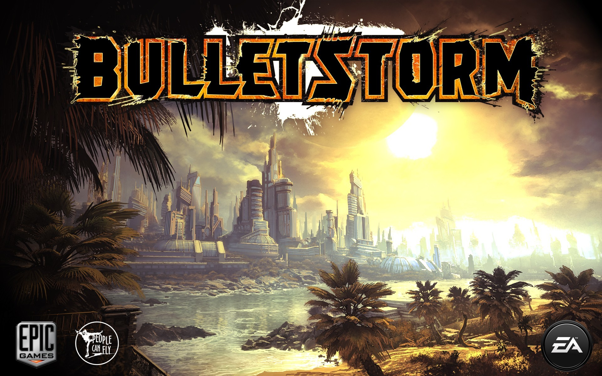 video games bulletstorm cities HD Wallpaper