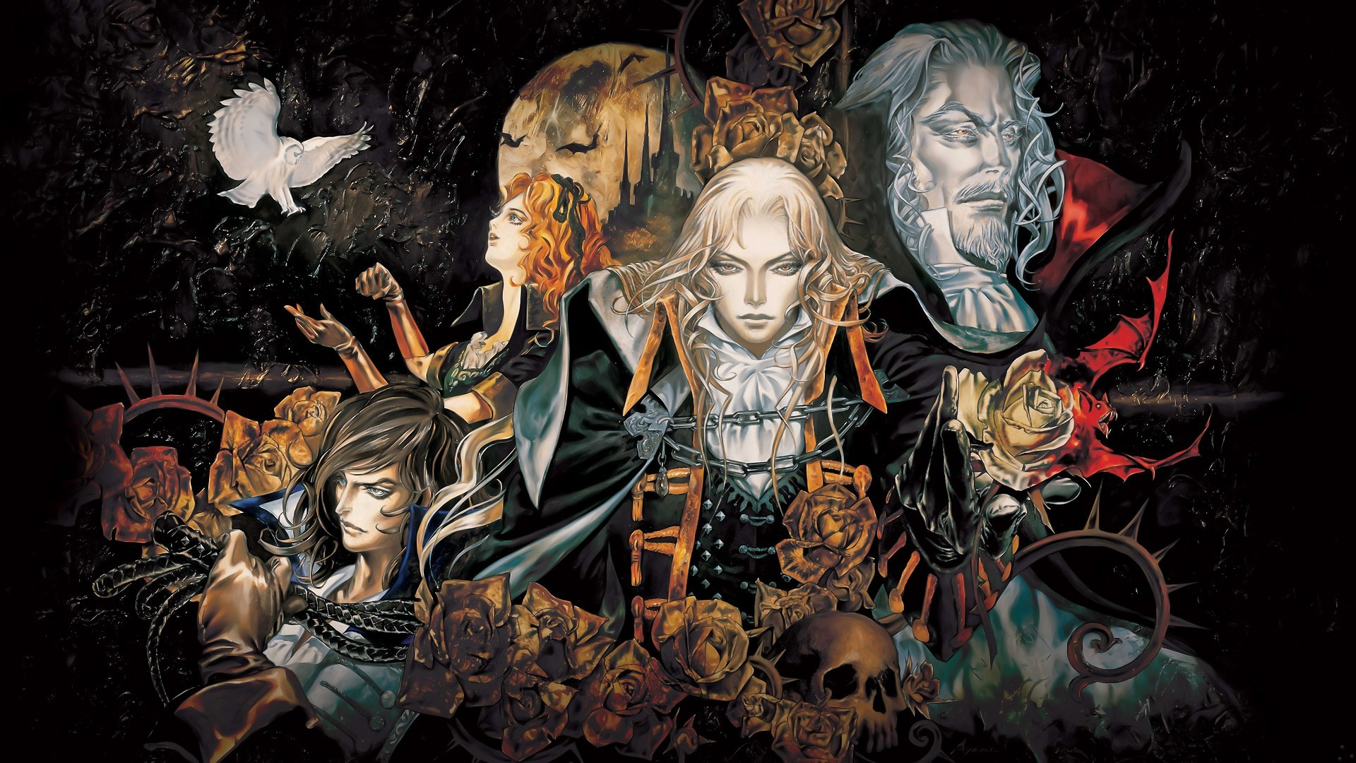 video games castlevania HD Wallpaper