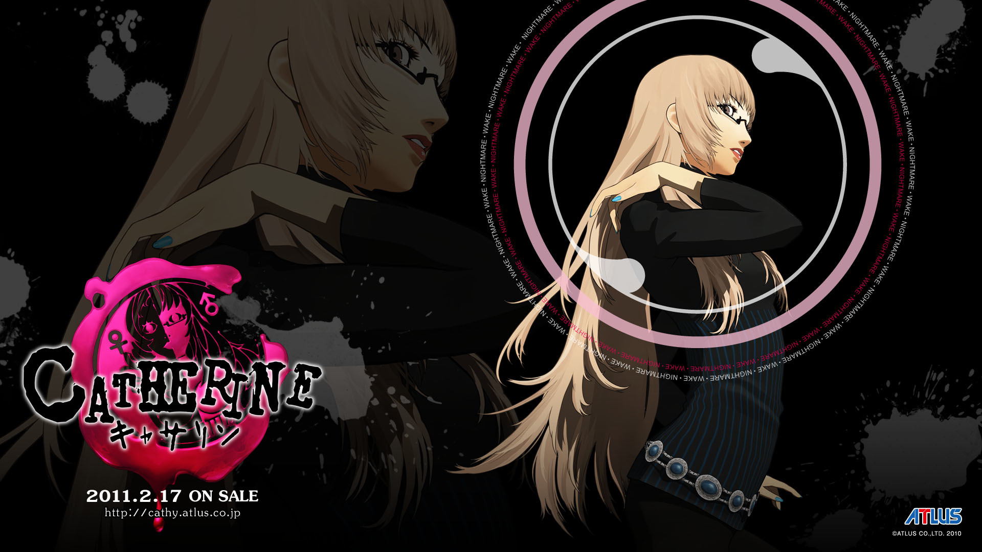 video games Catherine (video HD Wallpaper
