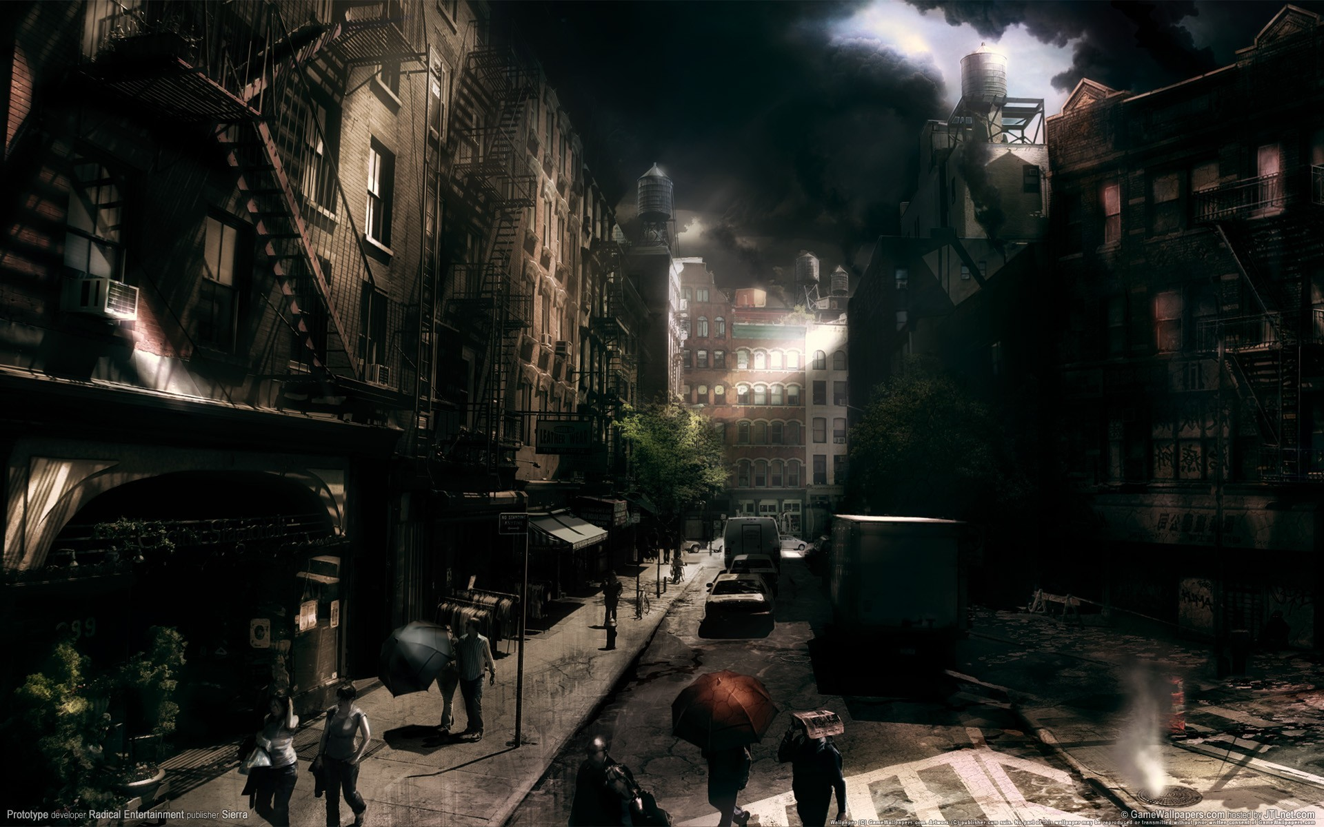 video games cityscapes 3D HD Wallpaper