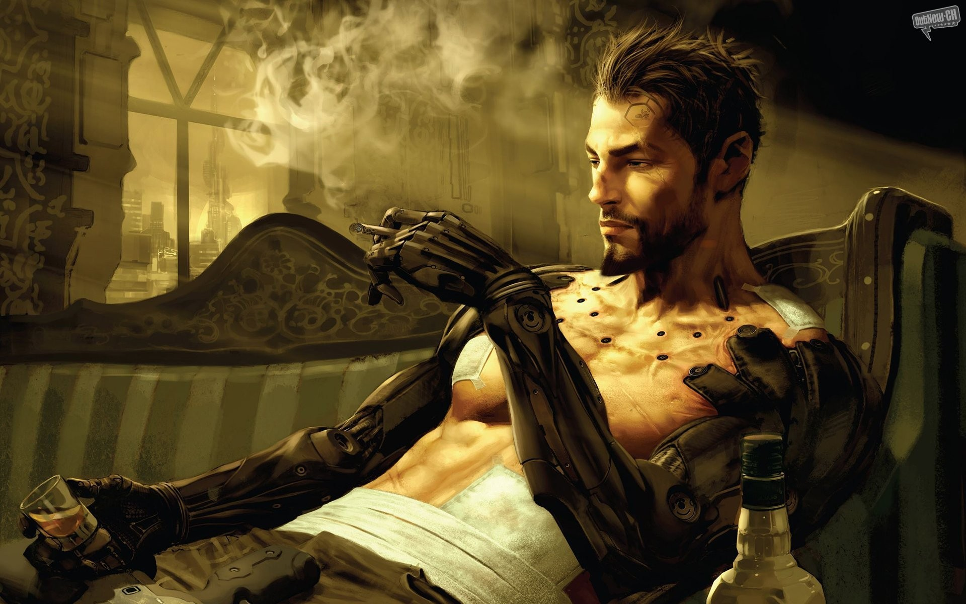 video games deus ex HD Wallpaper