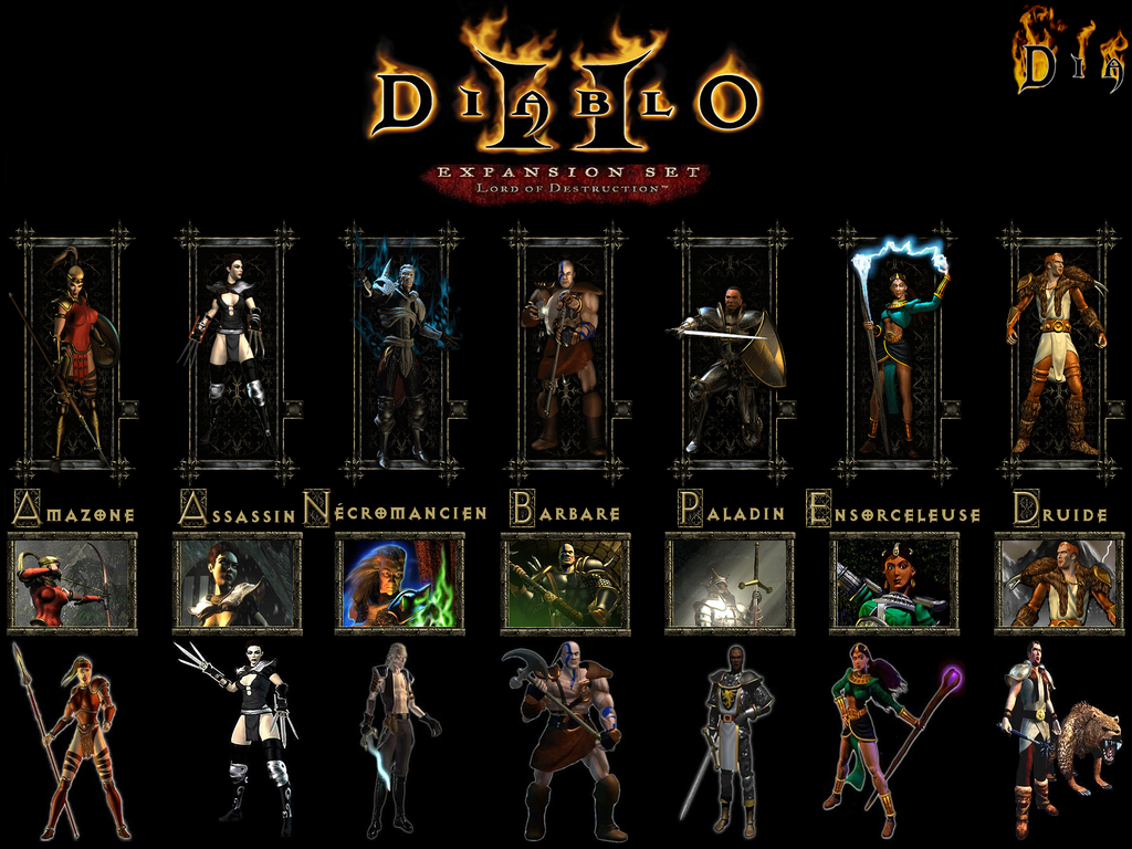 video Games diablo II HD Wallpaper