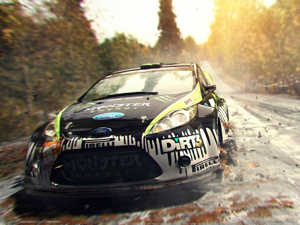 video games dirt 3 HD Wallpaper