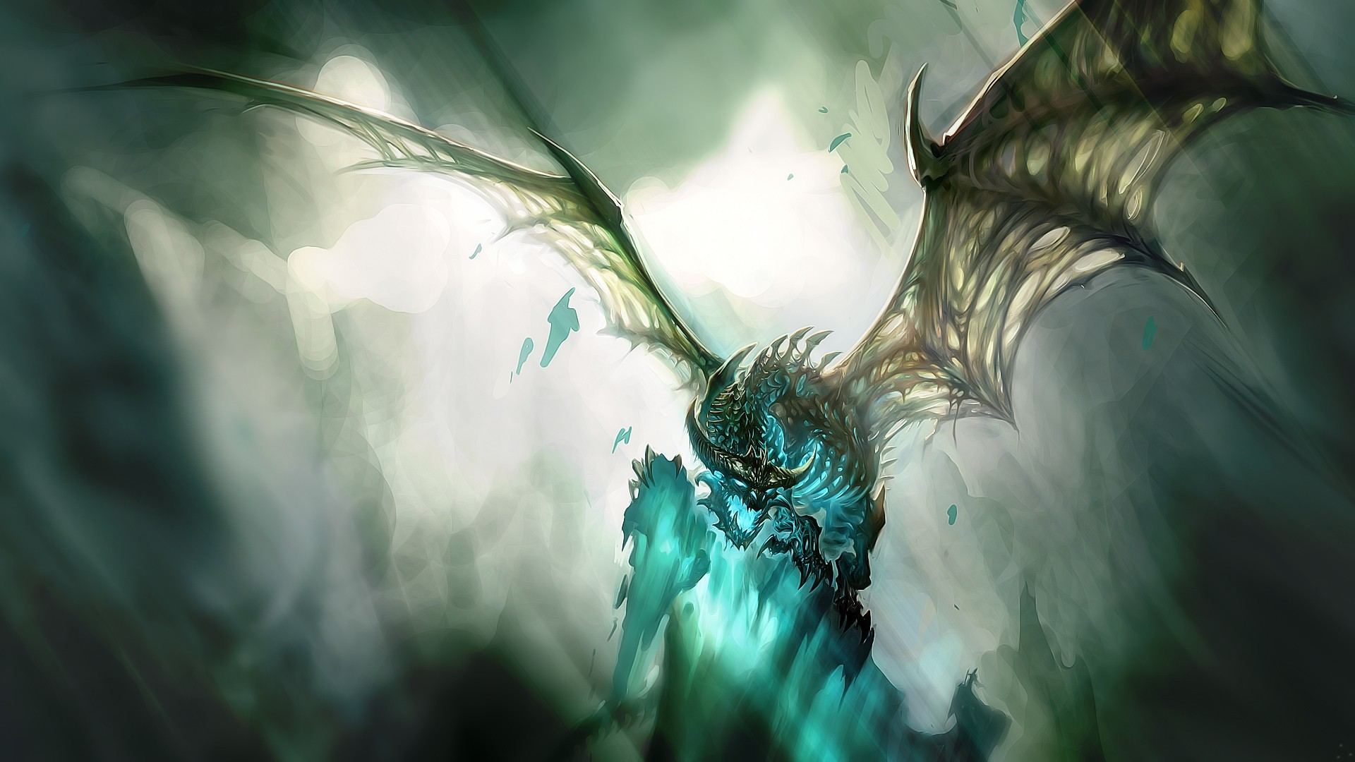 video games Dragons world HD Wallpaper