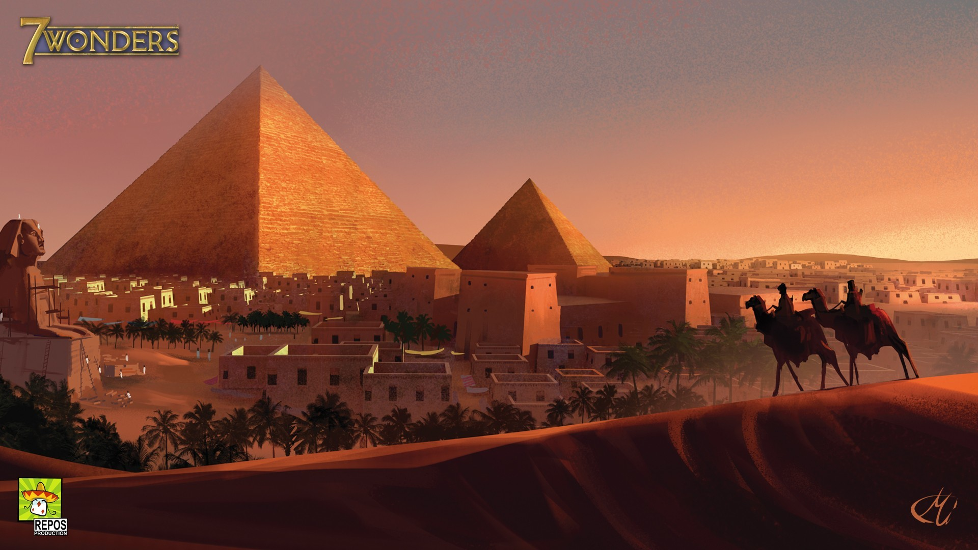 pyramids of egypt game