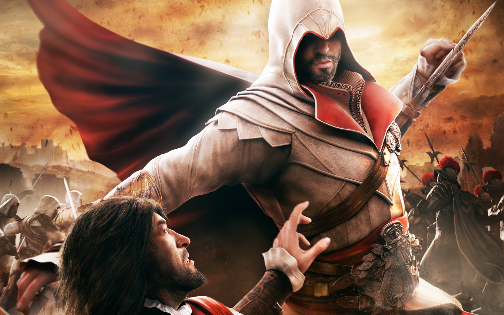 video games Ezio Assassins HD Wallpaper