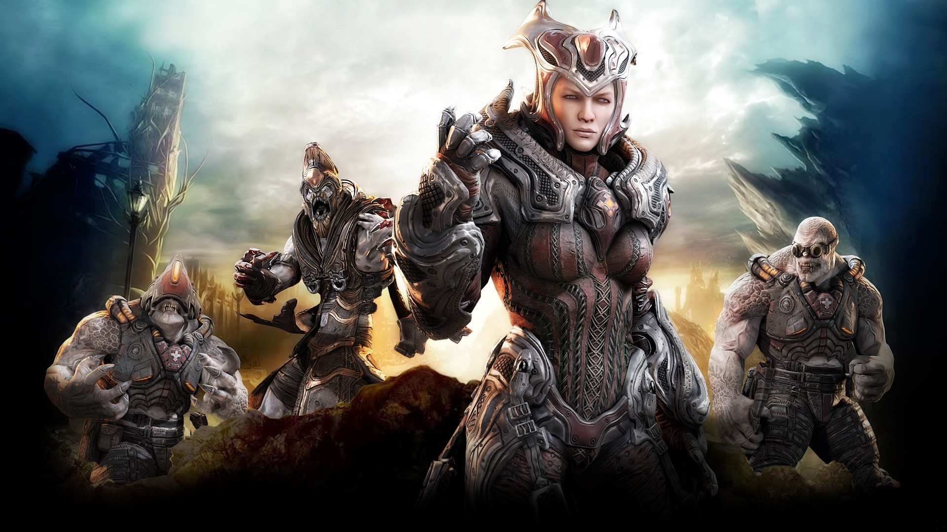 video games gears of HD Wallpaper