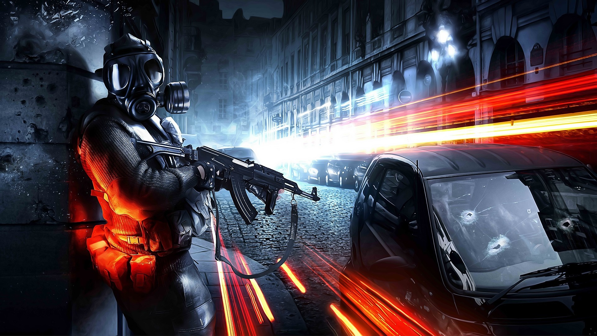 video games Guns gas HD Wallpaper