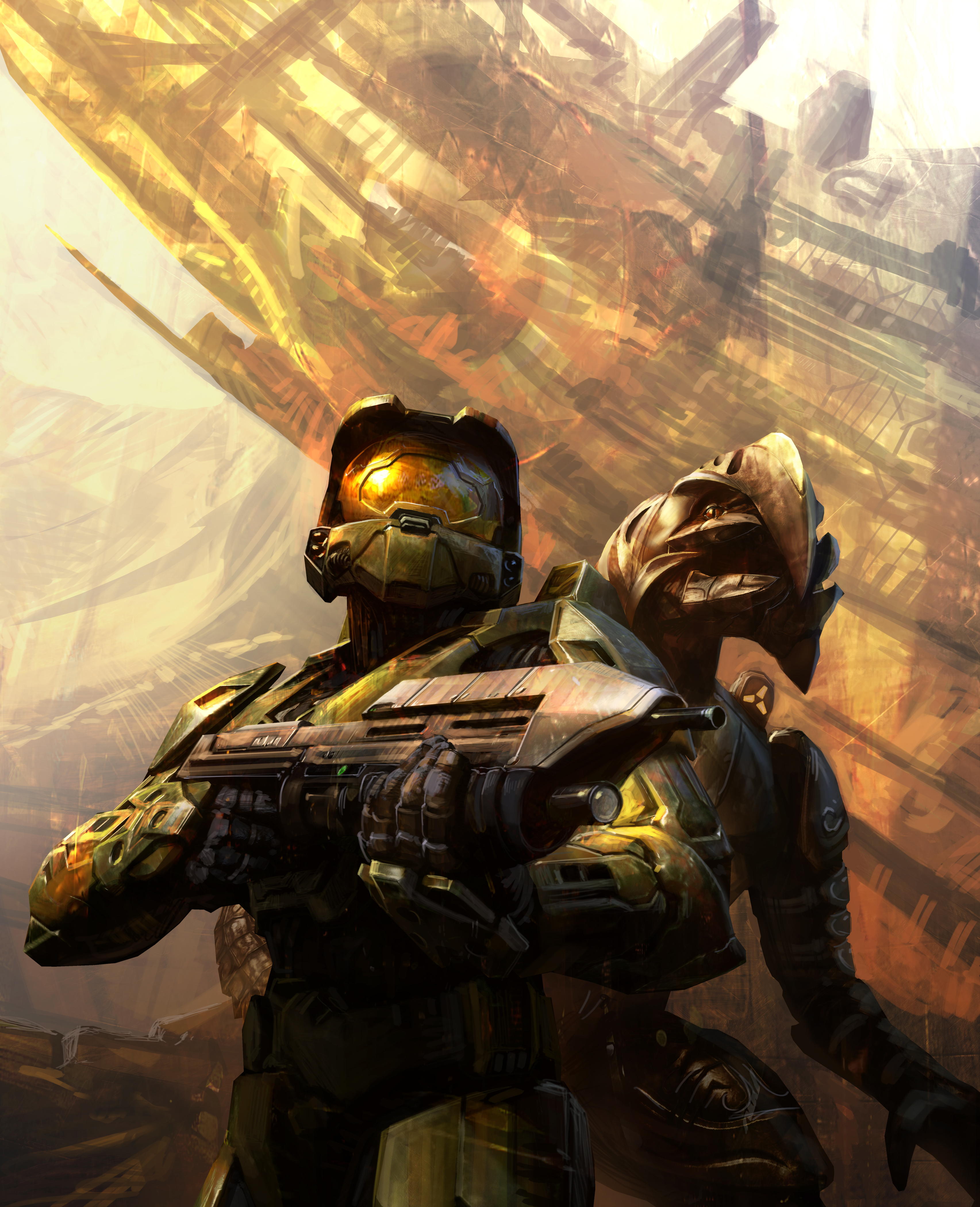video games halo master HD Wallpaper