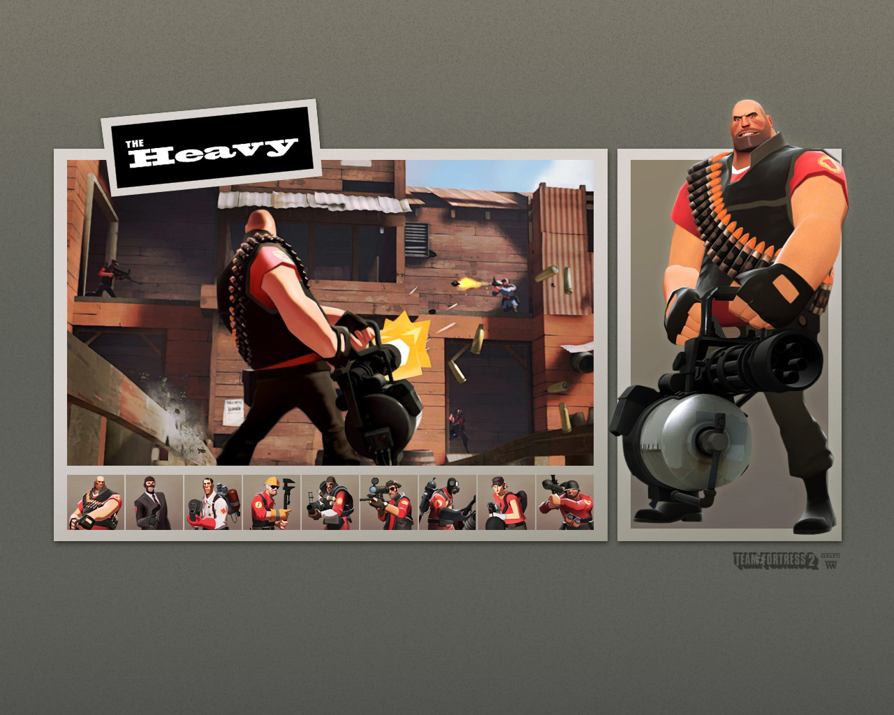 video games Heavy TF2