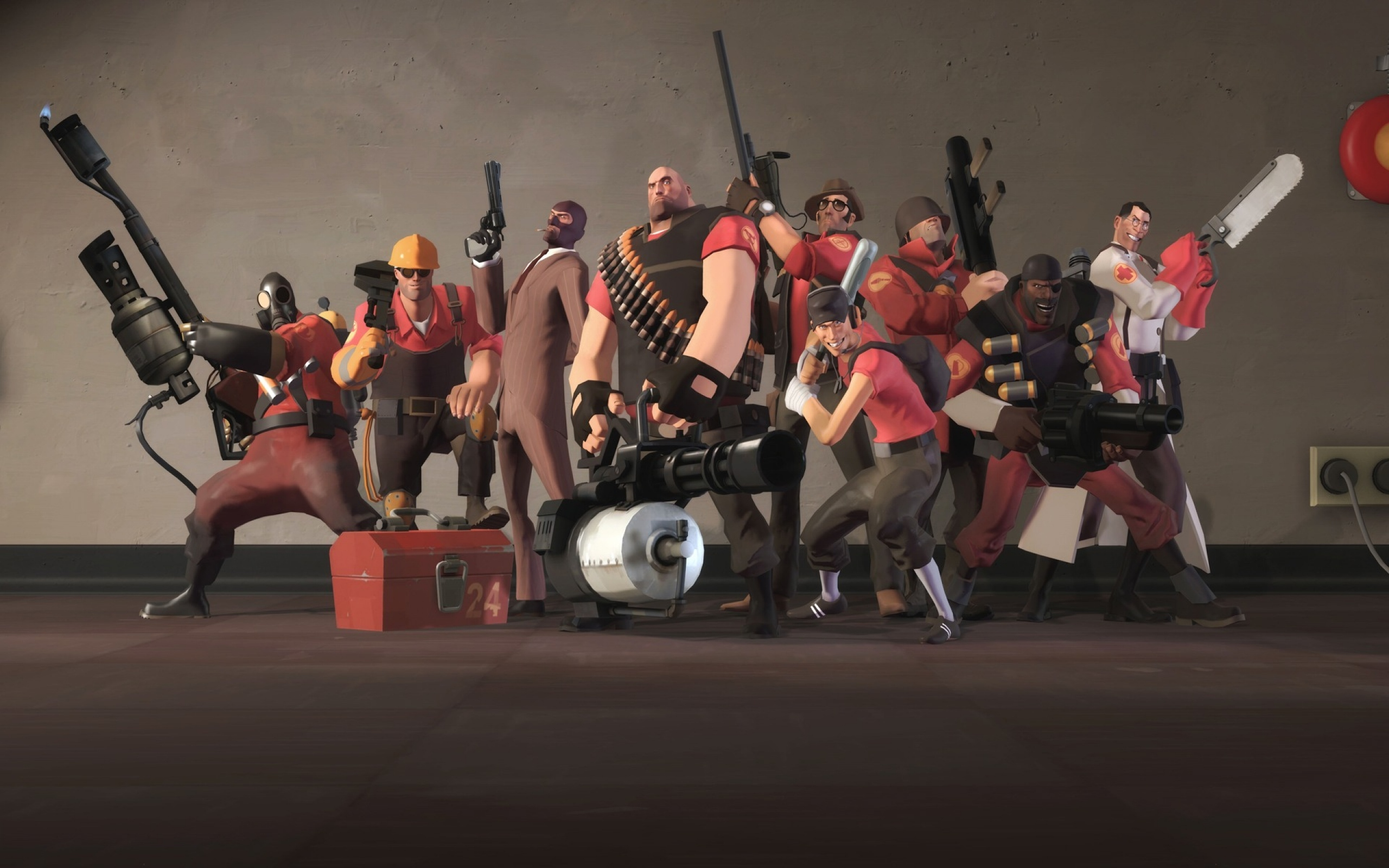 video games Heavy TF2 HD Wallpaper