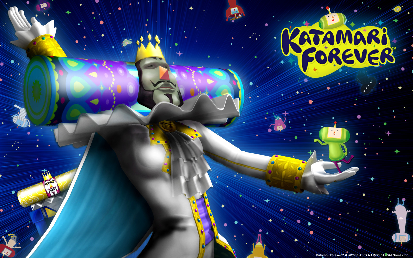 video Games Katamari game HD Wallpaper