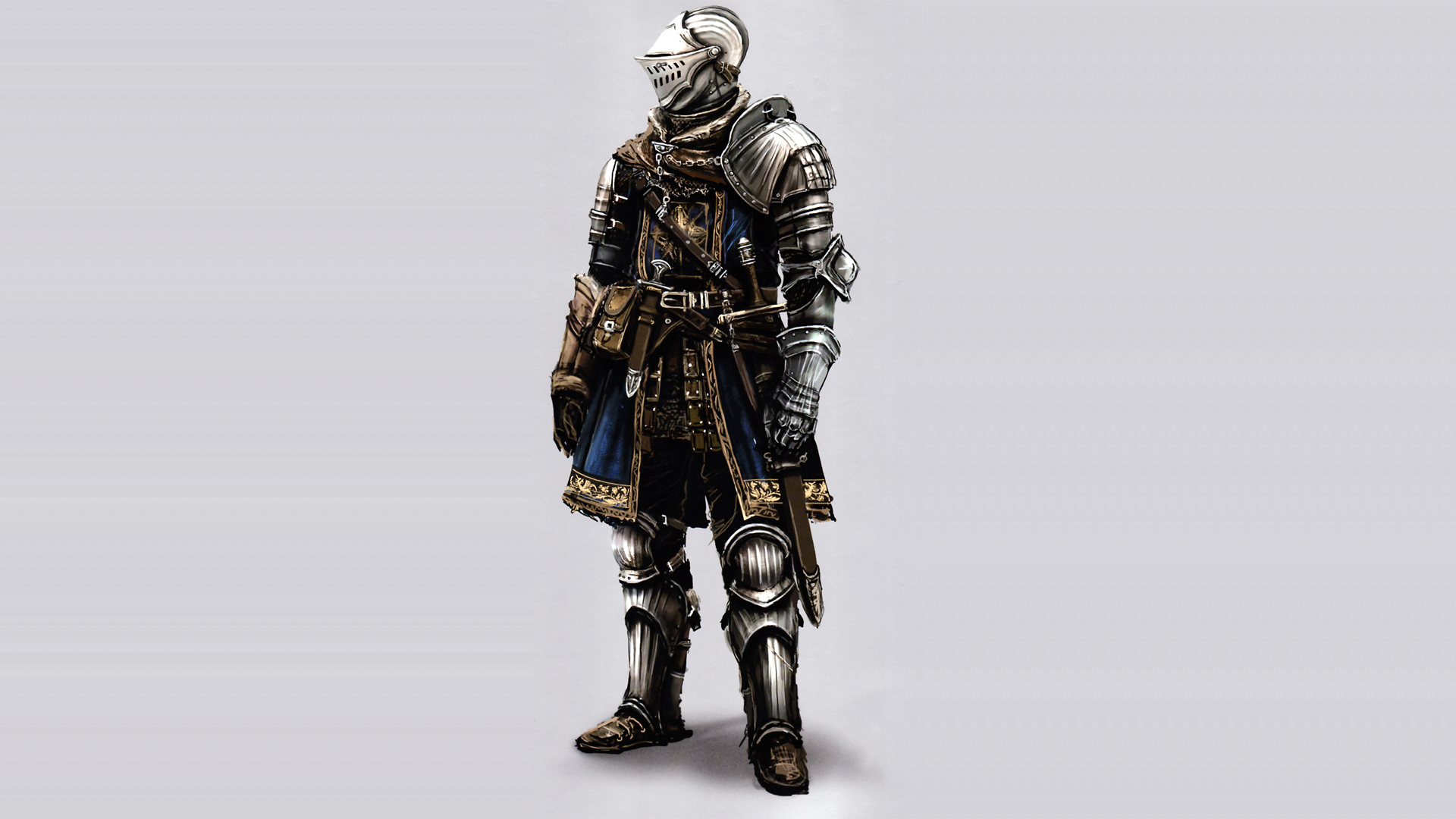 video games Knights armor HD Wallpaper