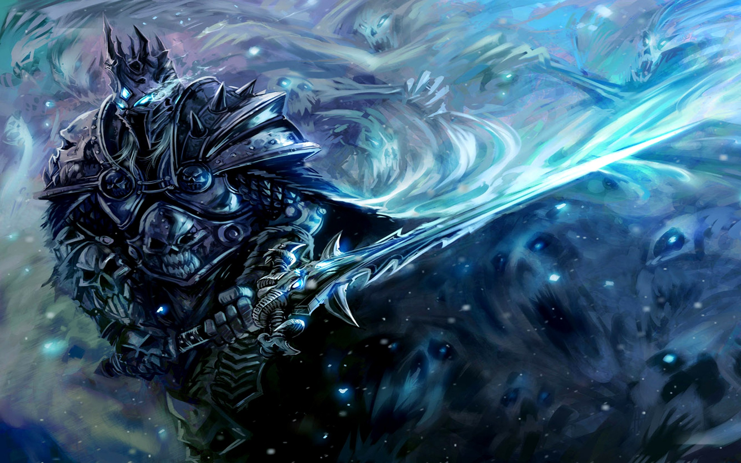 video games Lich King HD Wallpaper