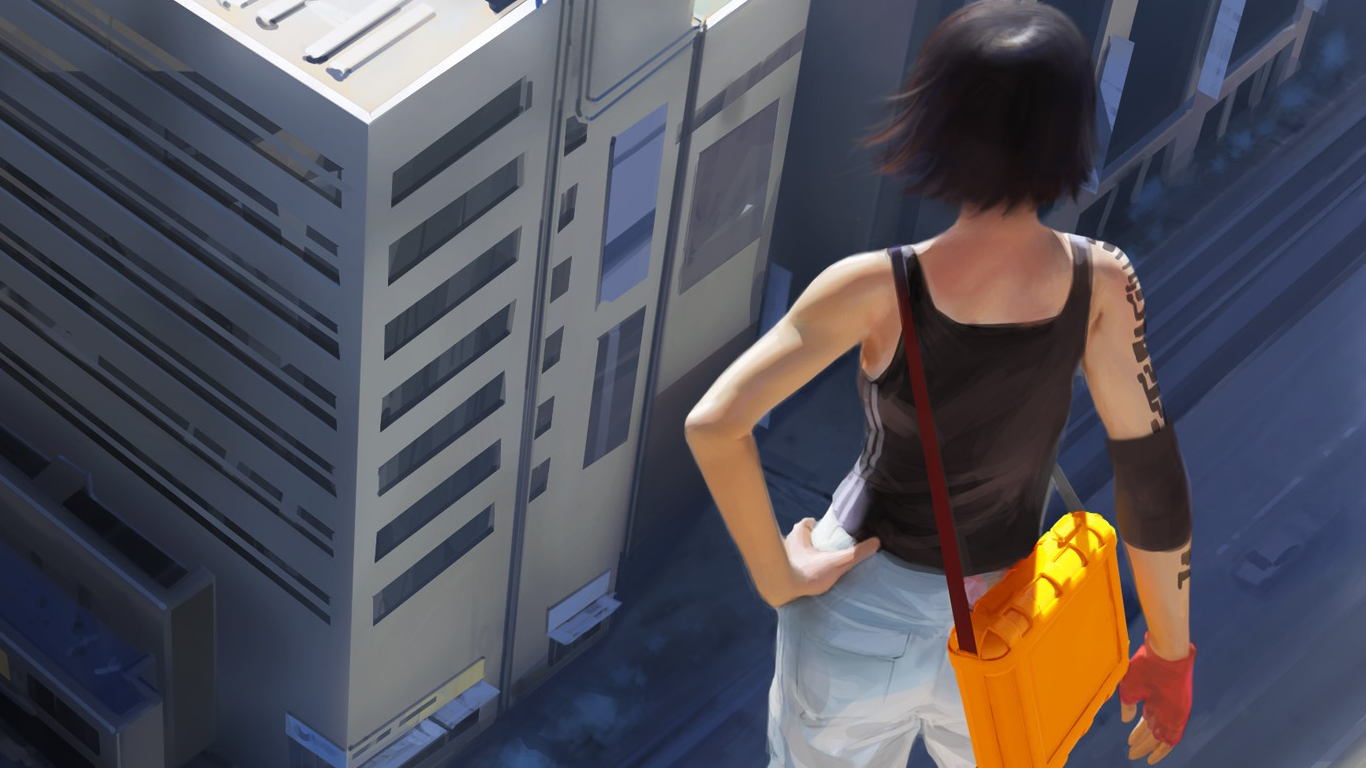 video Games mirrors edge HD Wallpaper