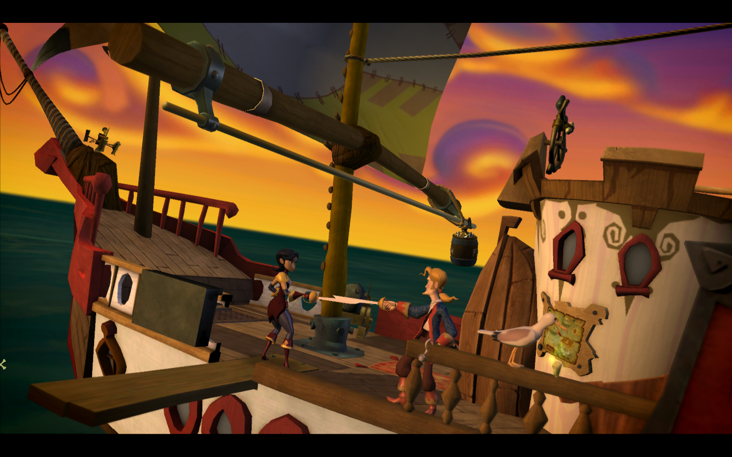 video Games monkey Island HD Wallpaper