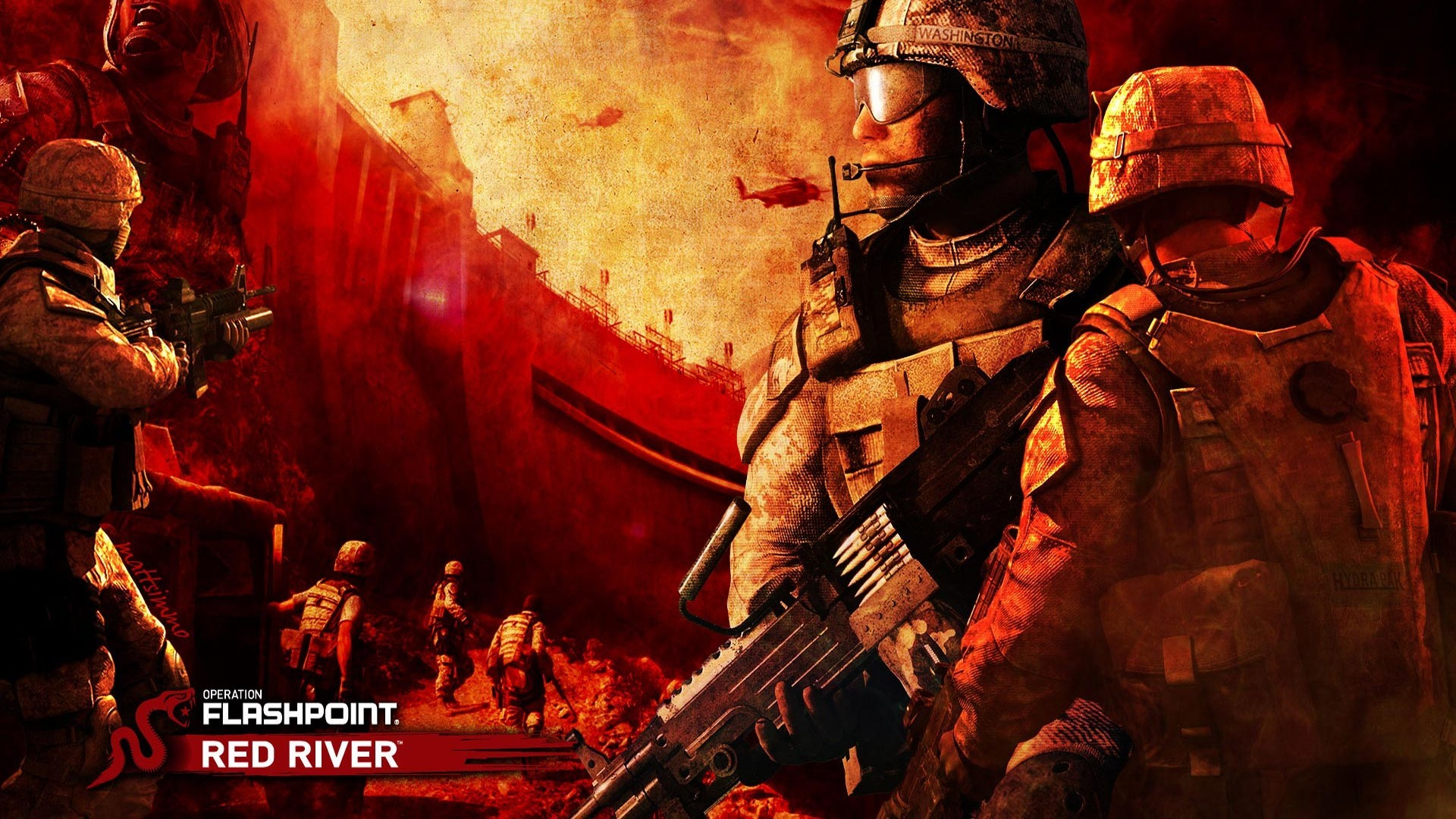 video games operation flashpoint HD Wallpaper