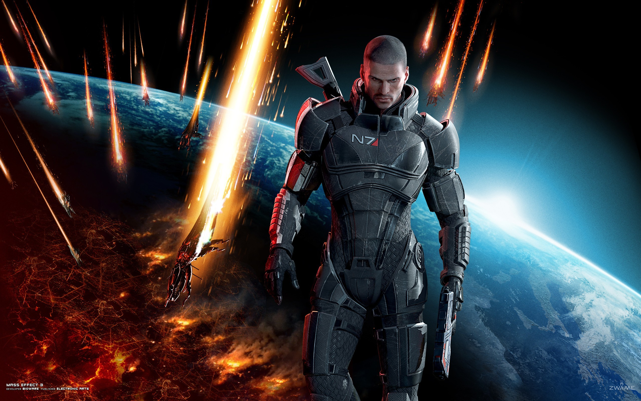 video games outer space HD Wallpaper