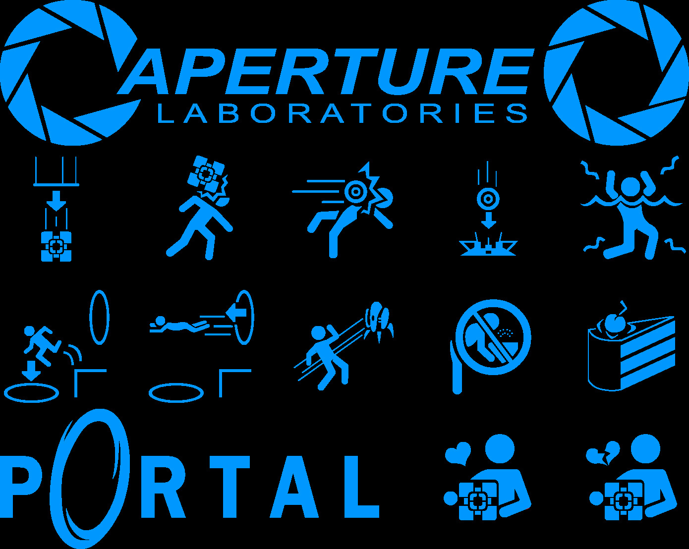 video Games Portal aperture HD Wallpaper