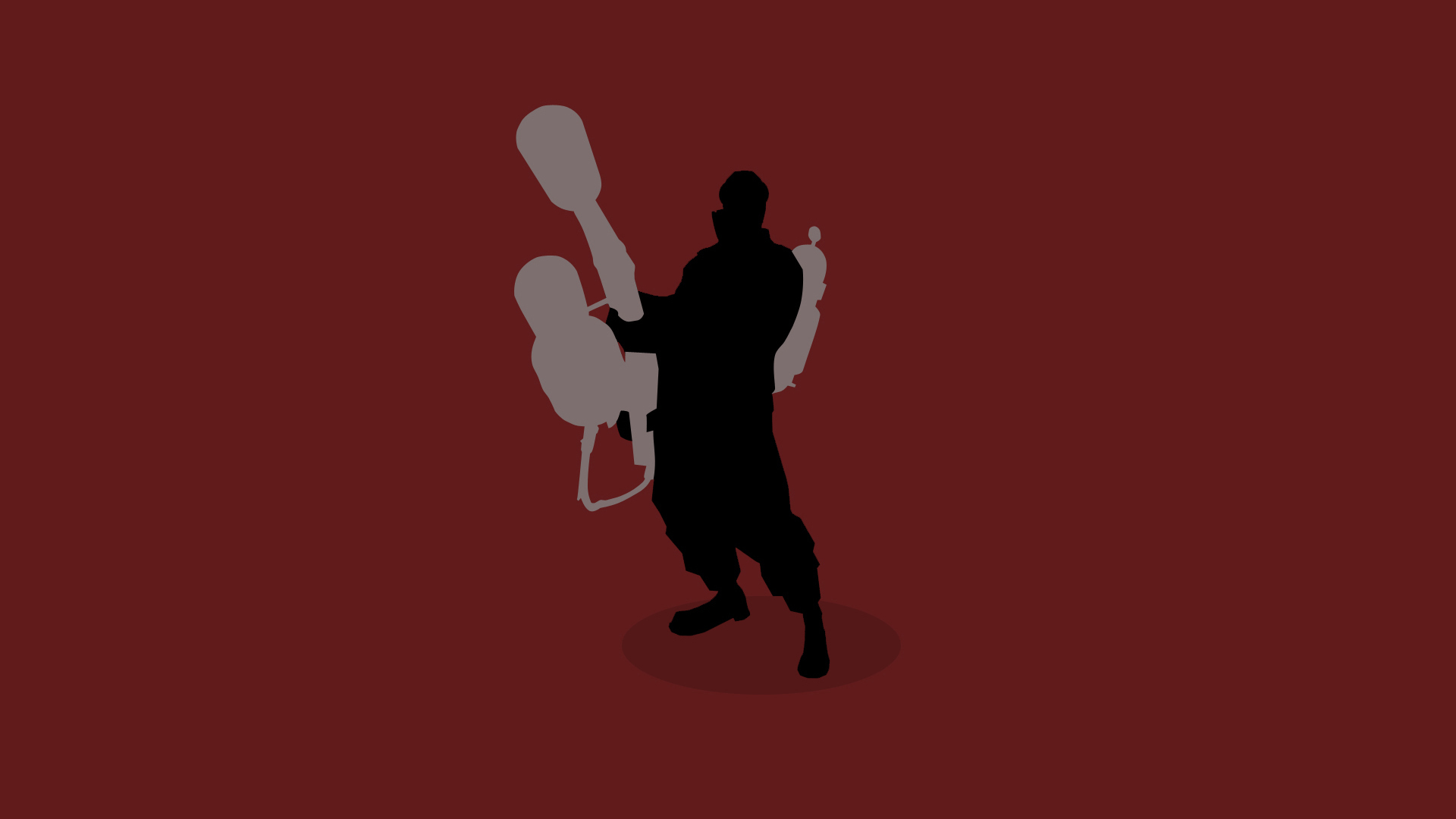 video games Pyro TF2 HD Wallpaper