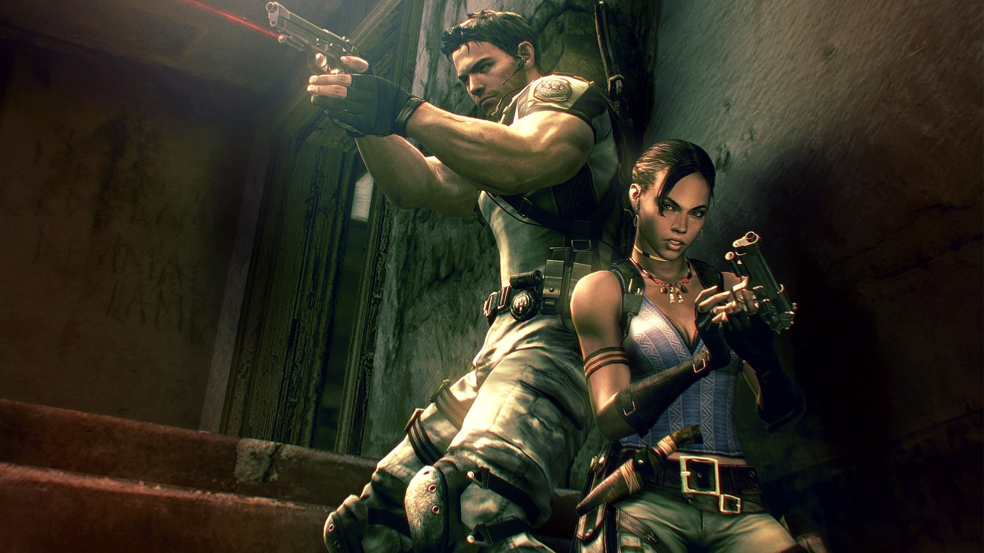 video games Resident Evil HD Wallpaper