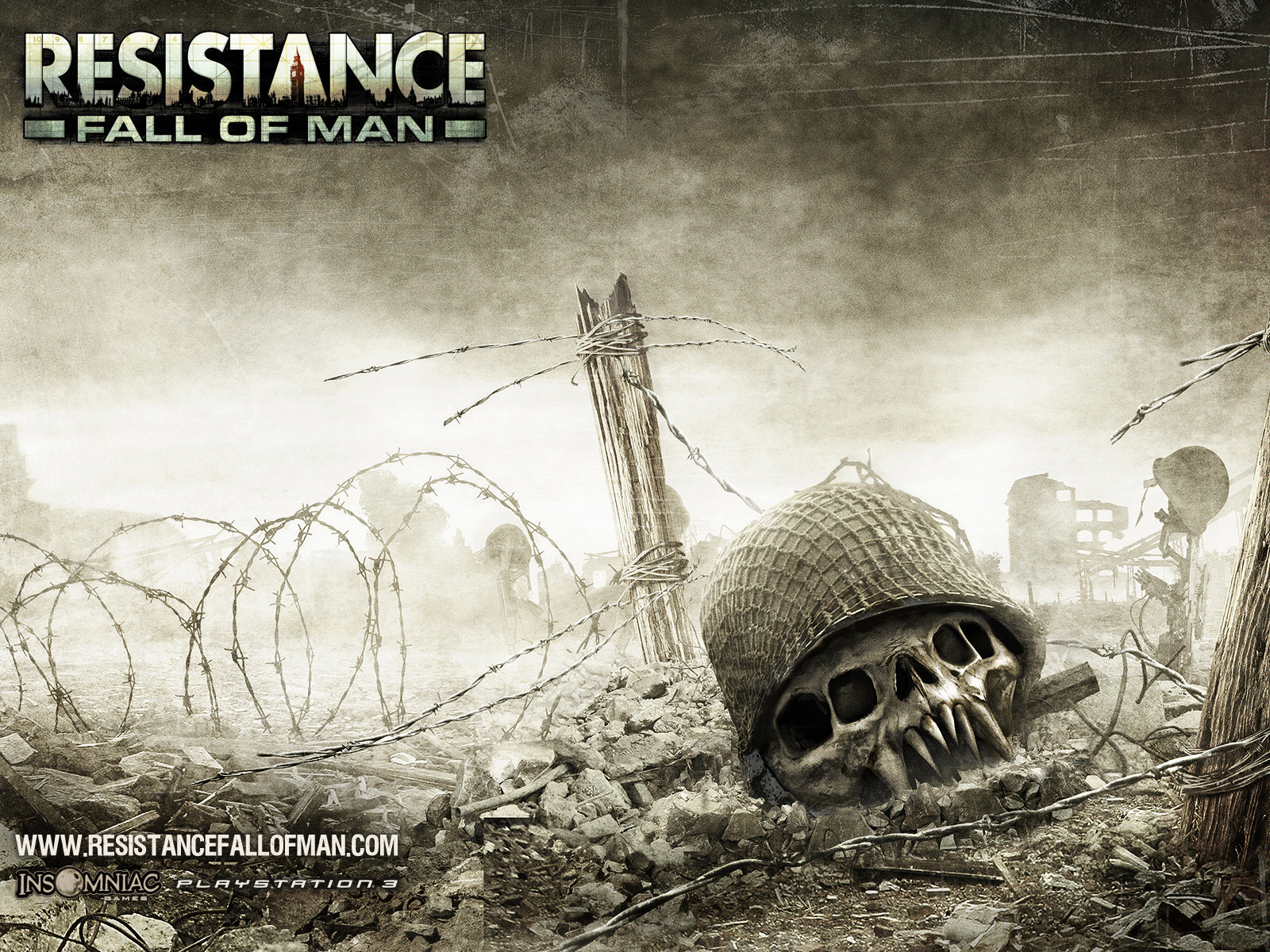 video games resistance HD Wallpaper