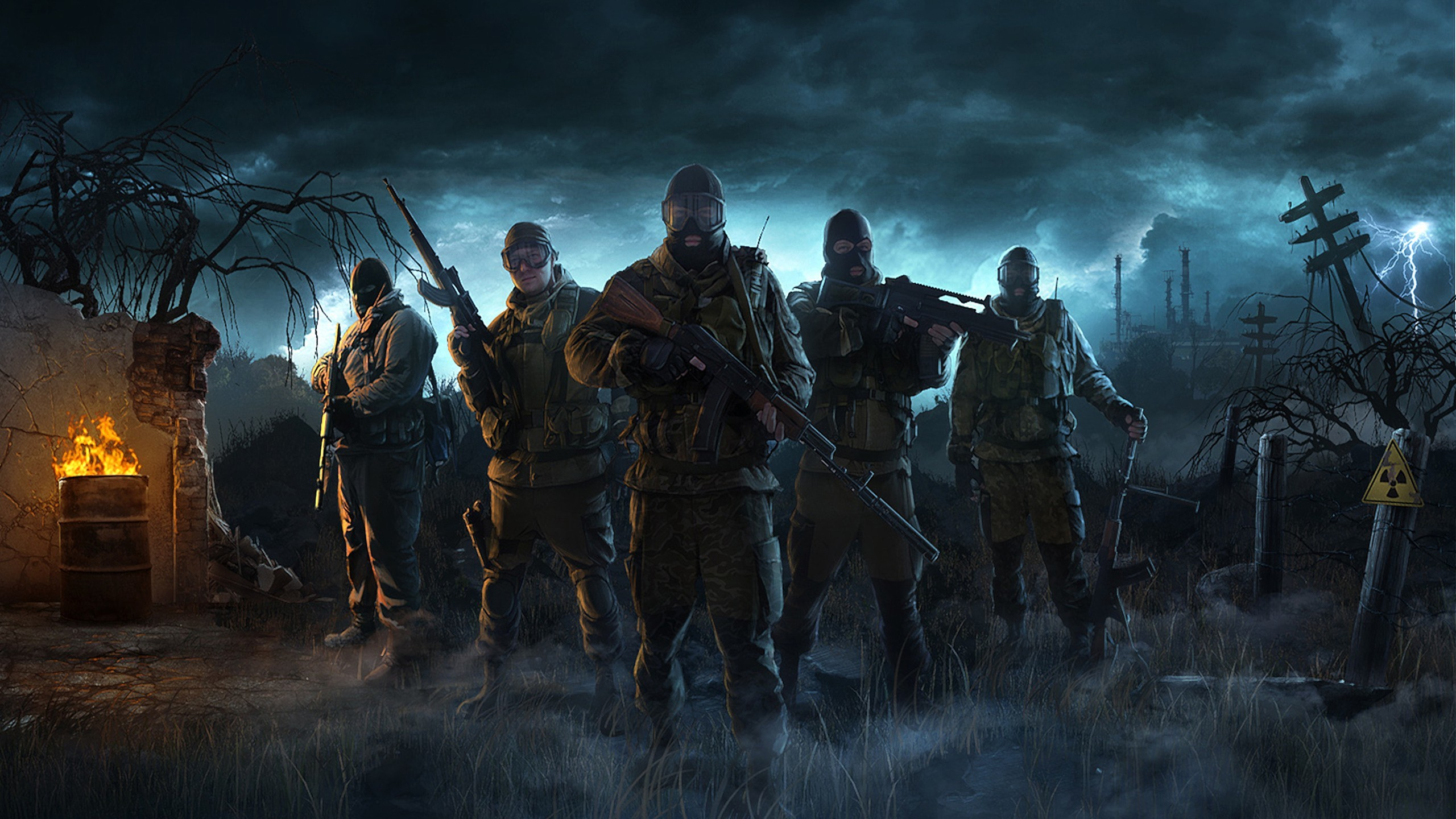 video games S.T.A.L.K.E.R. military HD Wallpaper