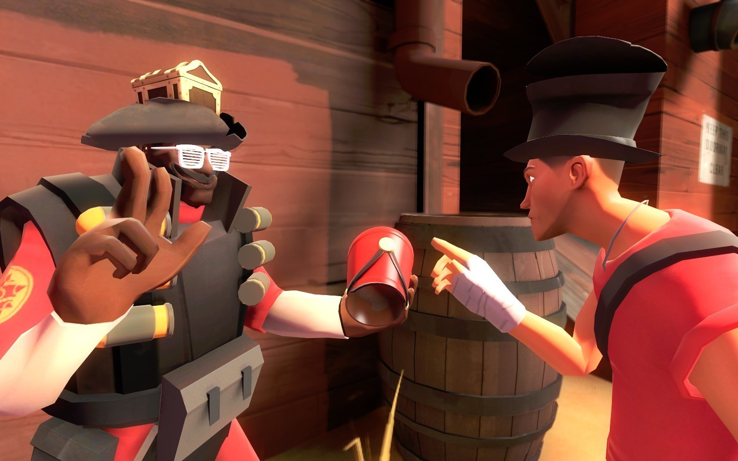 video games Scout TF2 HD Wallpaper