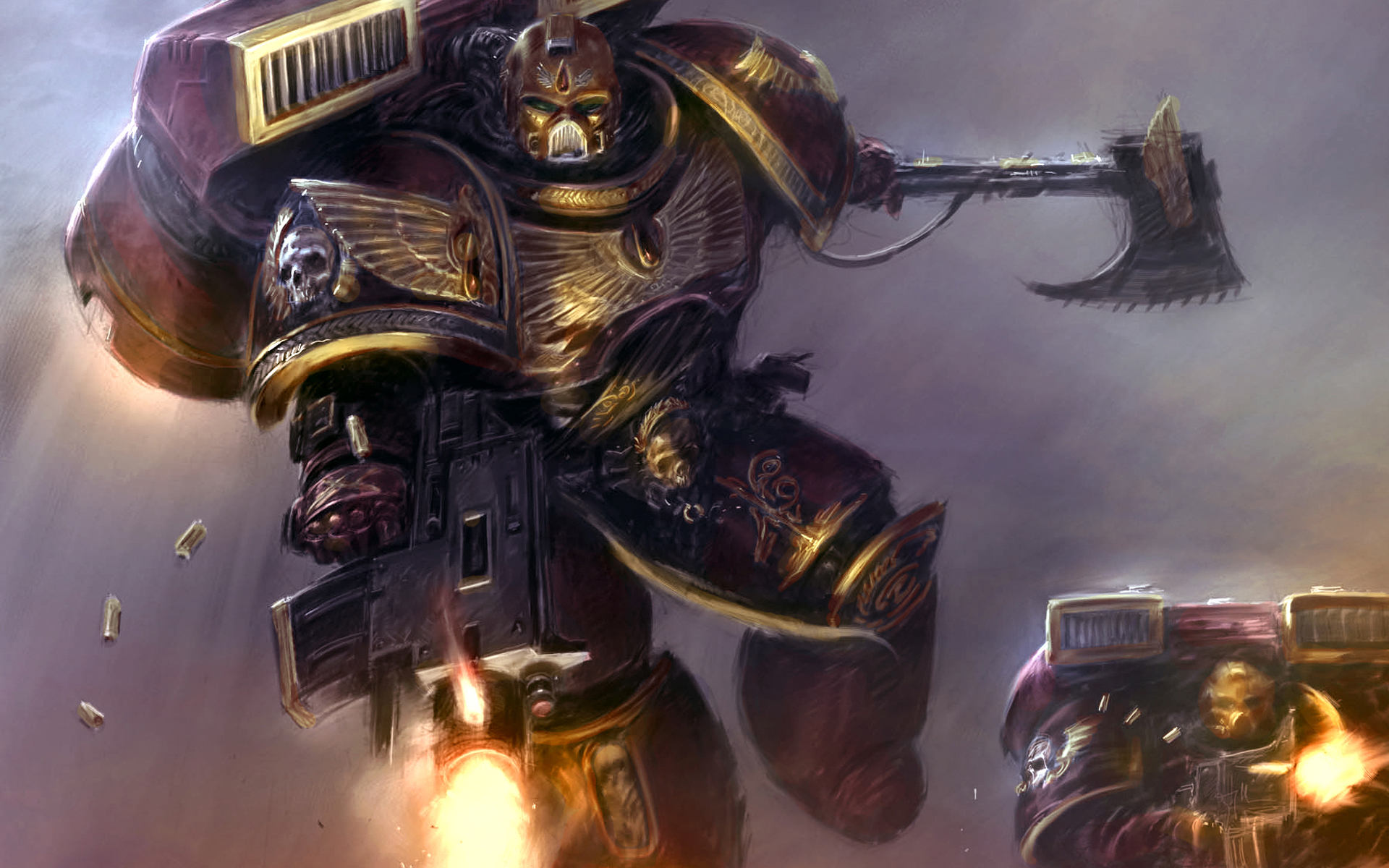 video games Space Marines HD Wallpaper