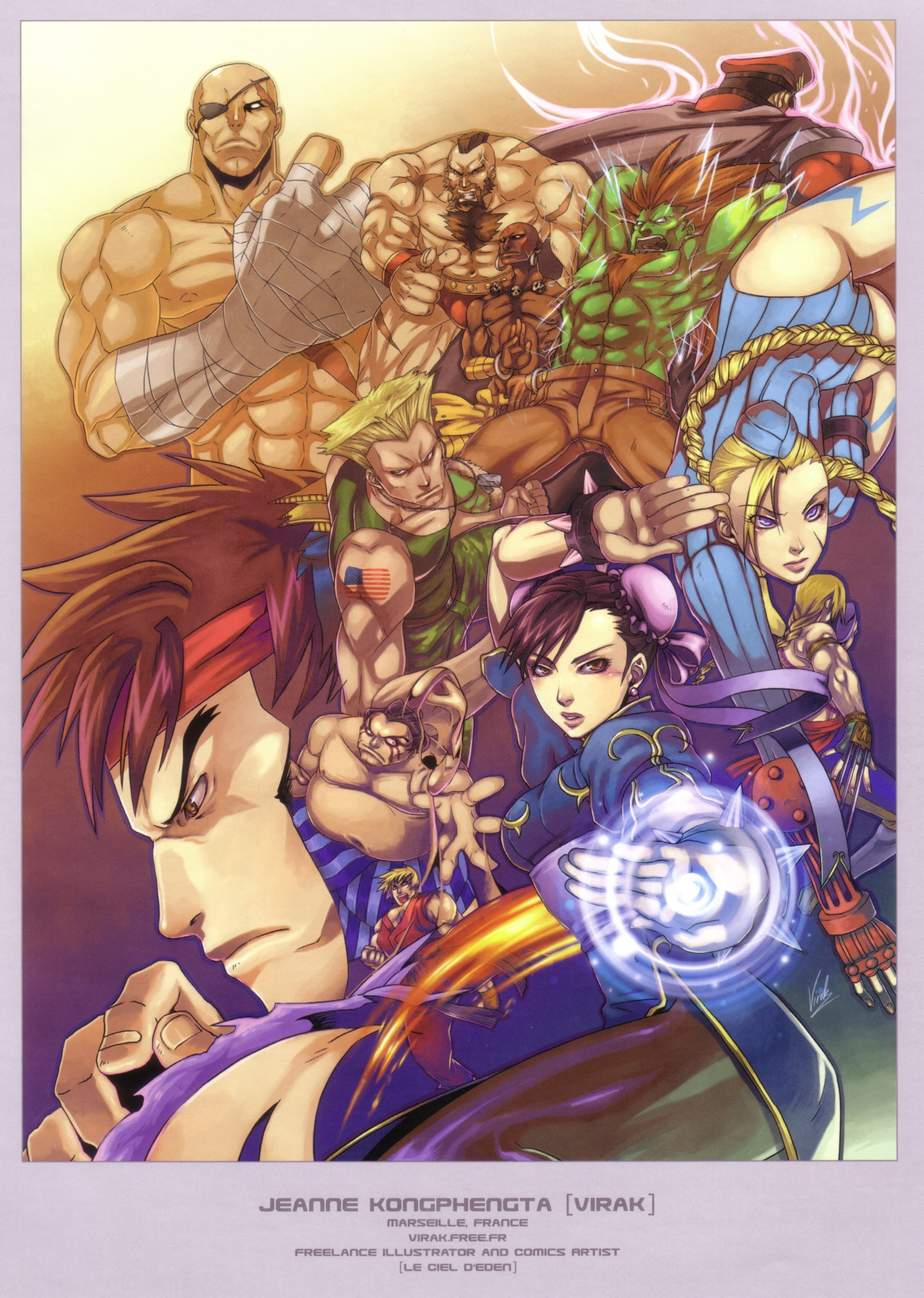 video games street fighter HD Wallpaper