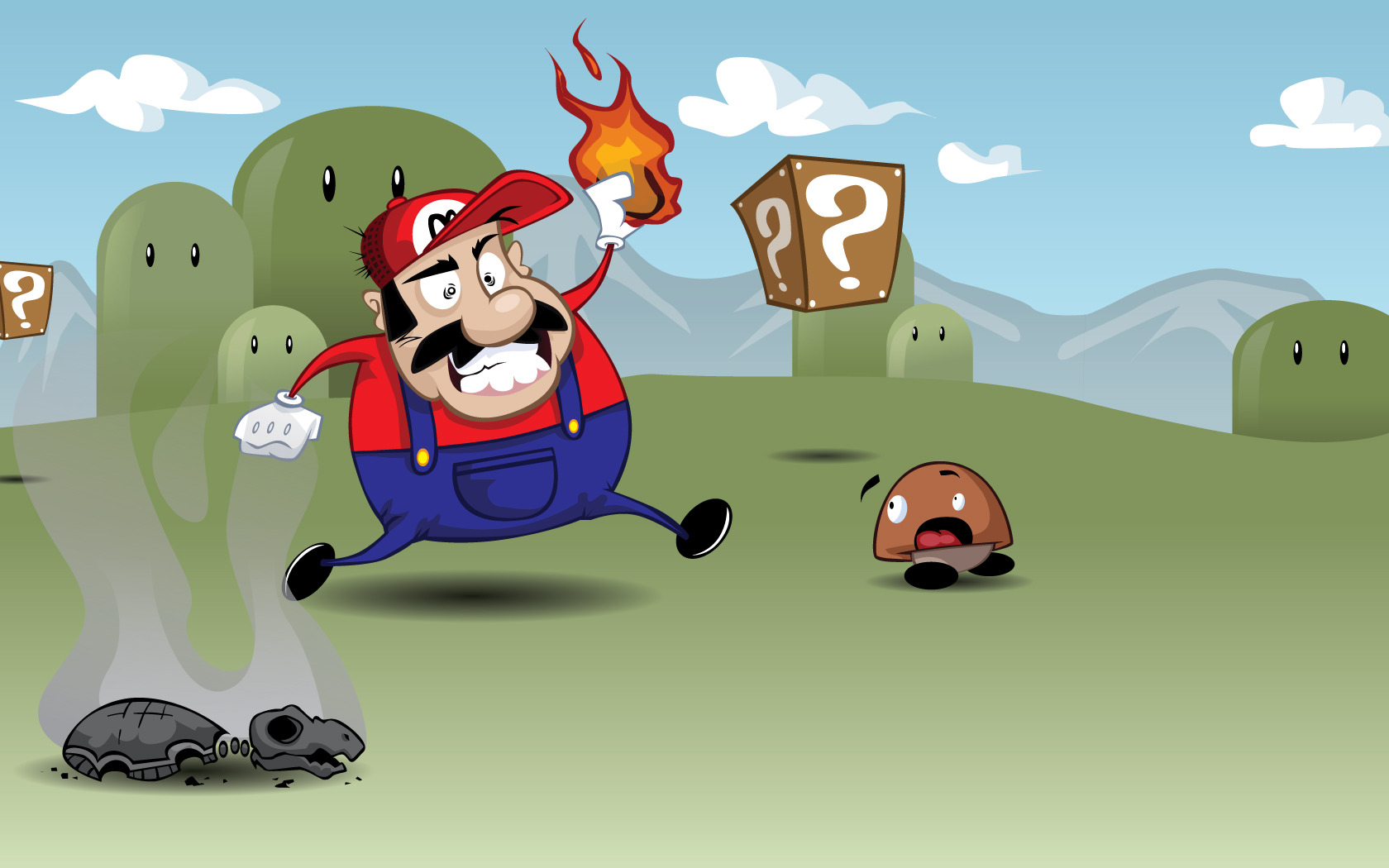 video Games super Mario HD Wallpaper