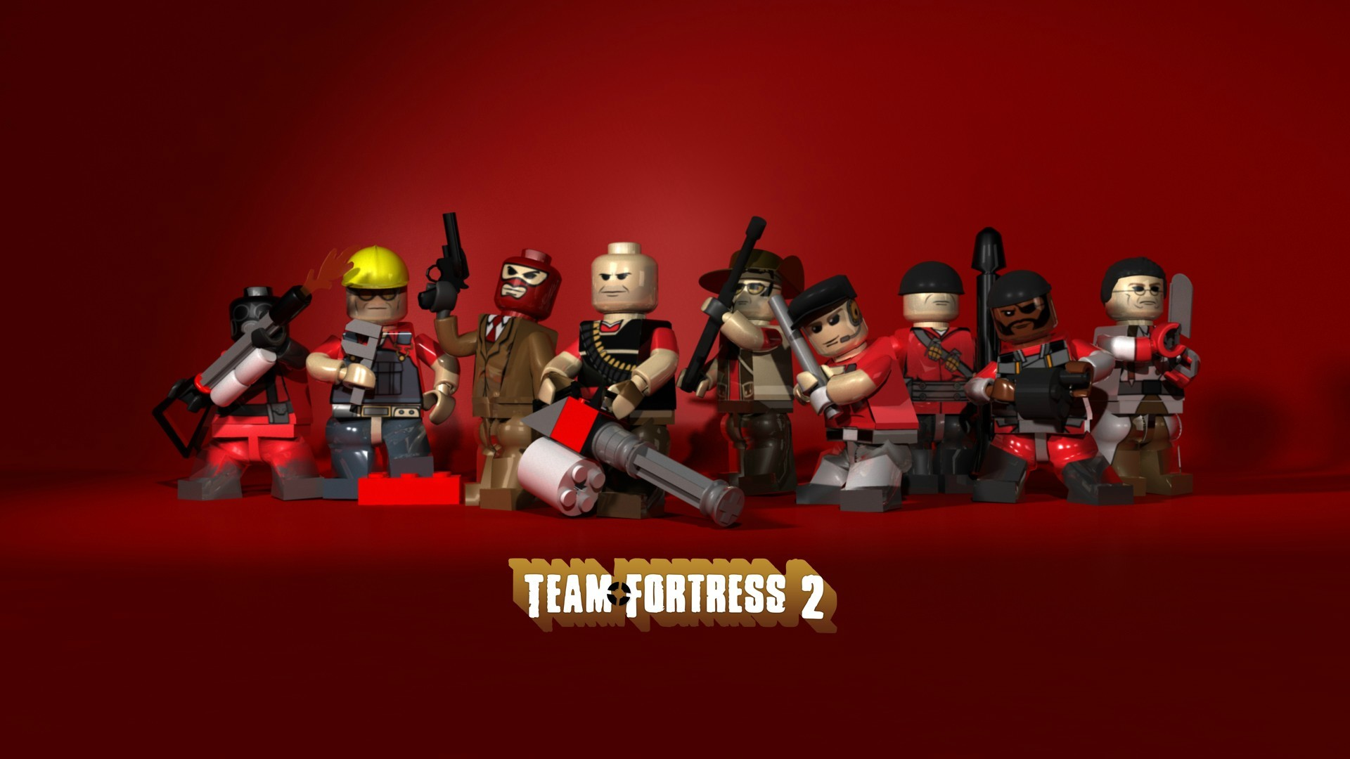 video games team fortress HD Wallpaper
