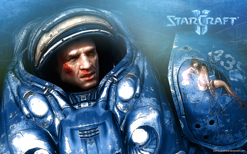 video Games Terran starcraft HD Wallpaper