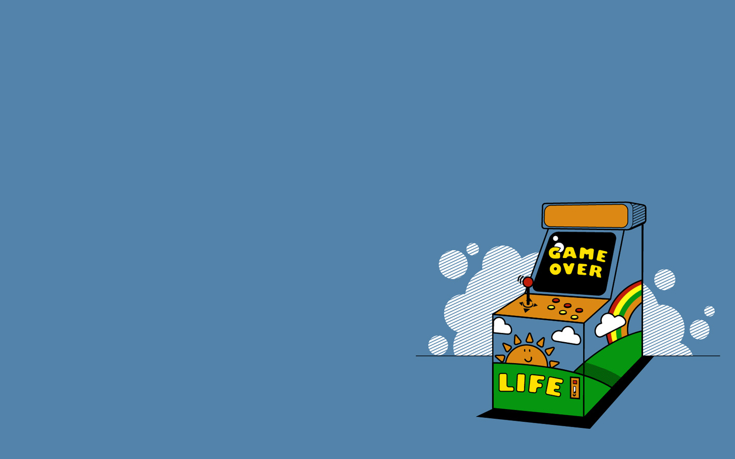 video Games Threadless Life HD Wallpaper