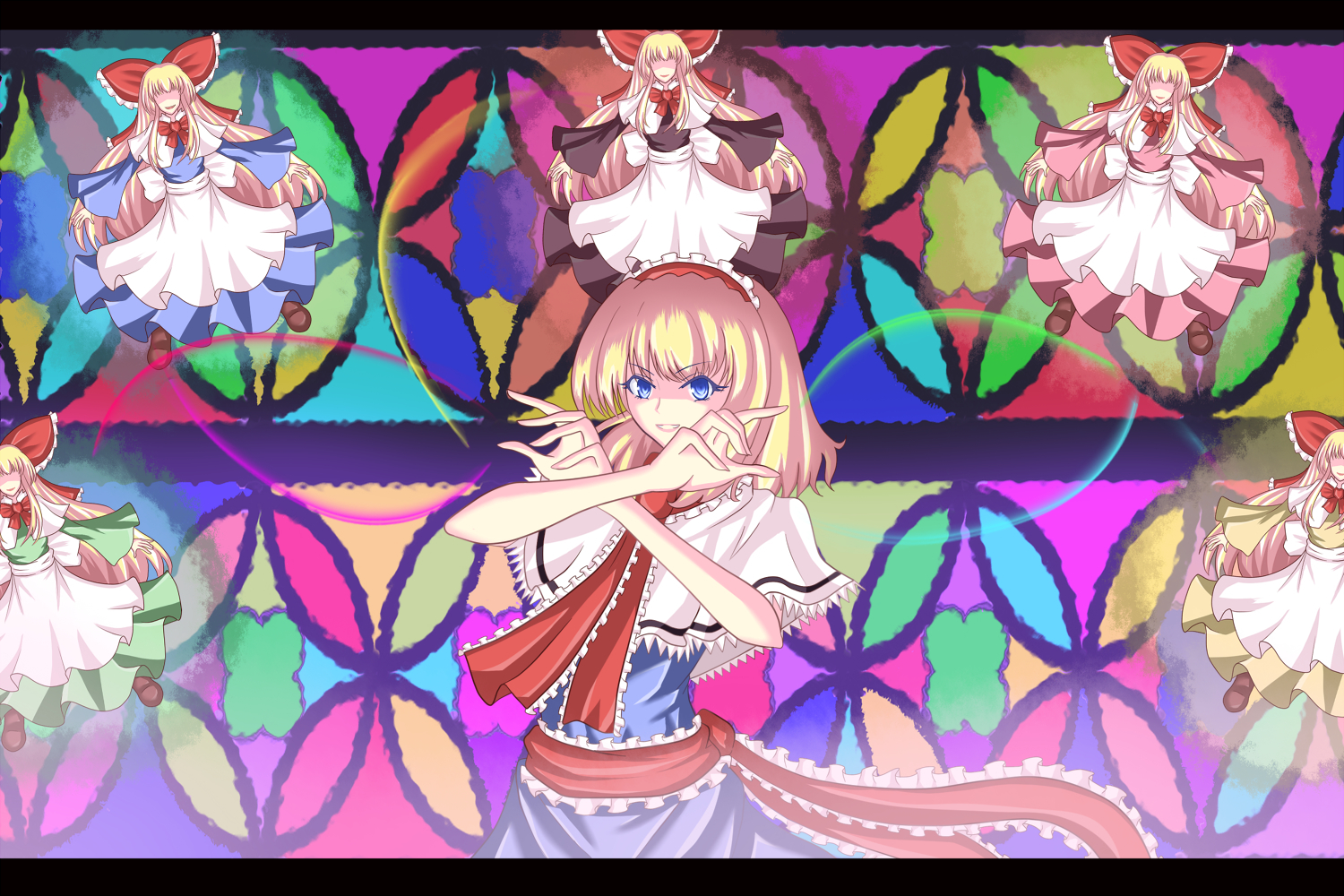video Games touhou dolls HD Wallpaper