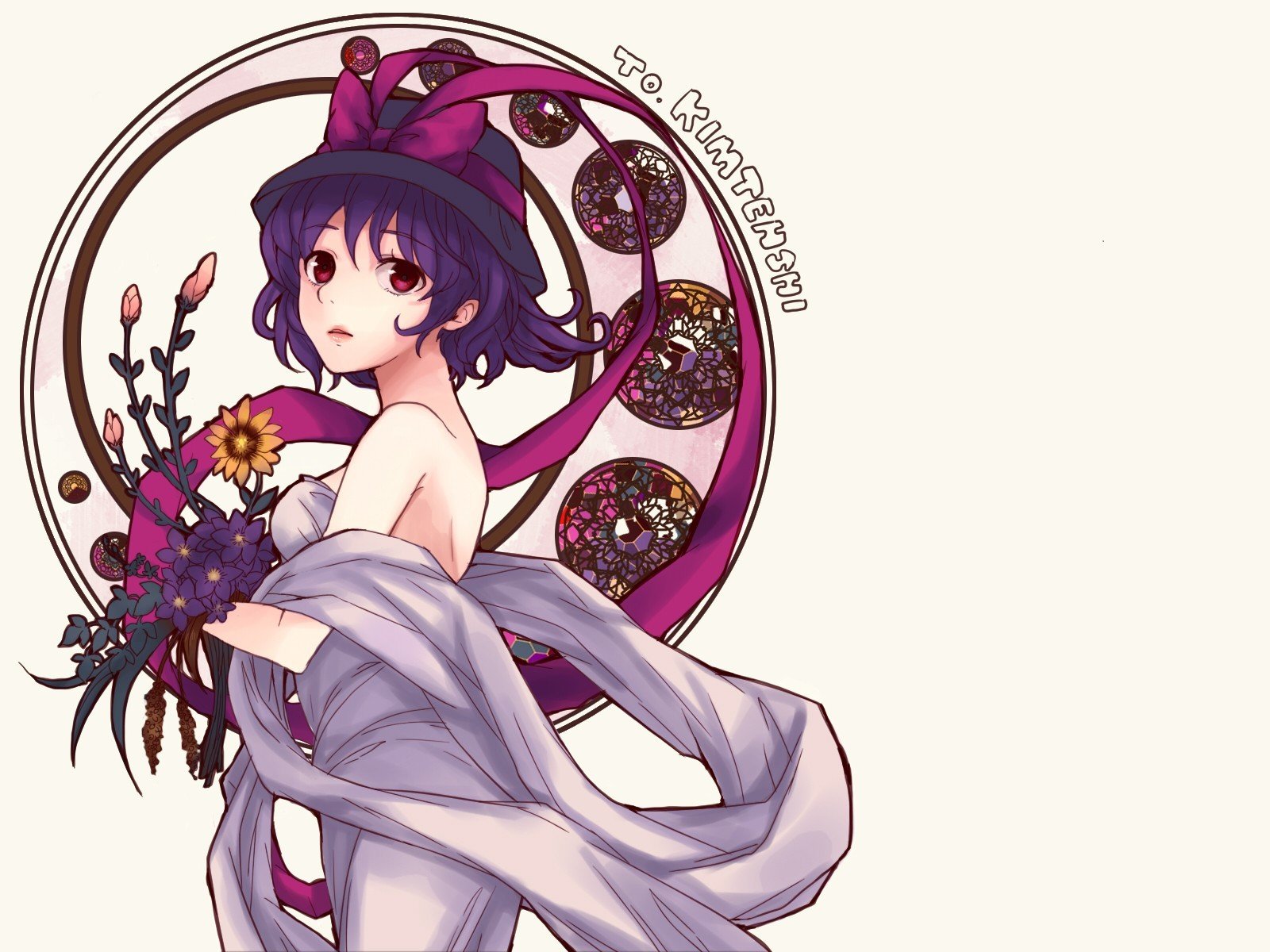 video games touhou dress HD Wallpaper