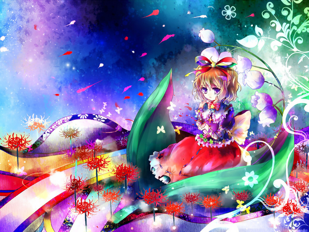 video Games touhou medicine HD Wallpaper