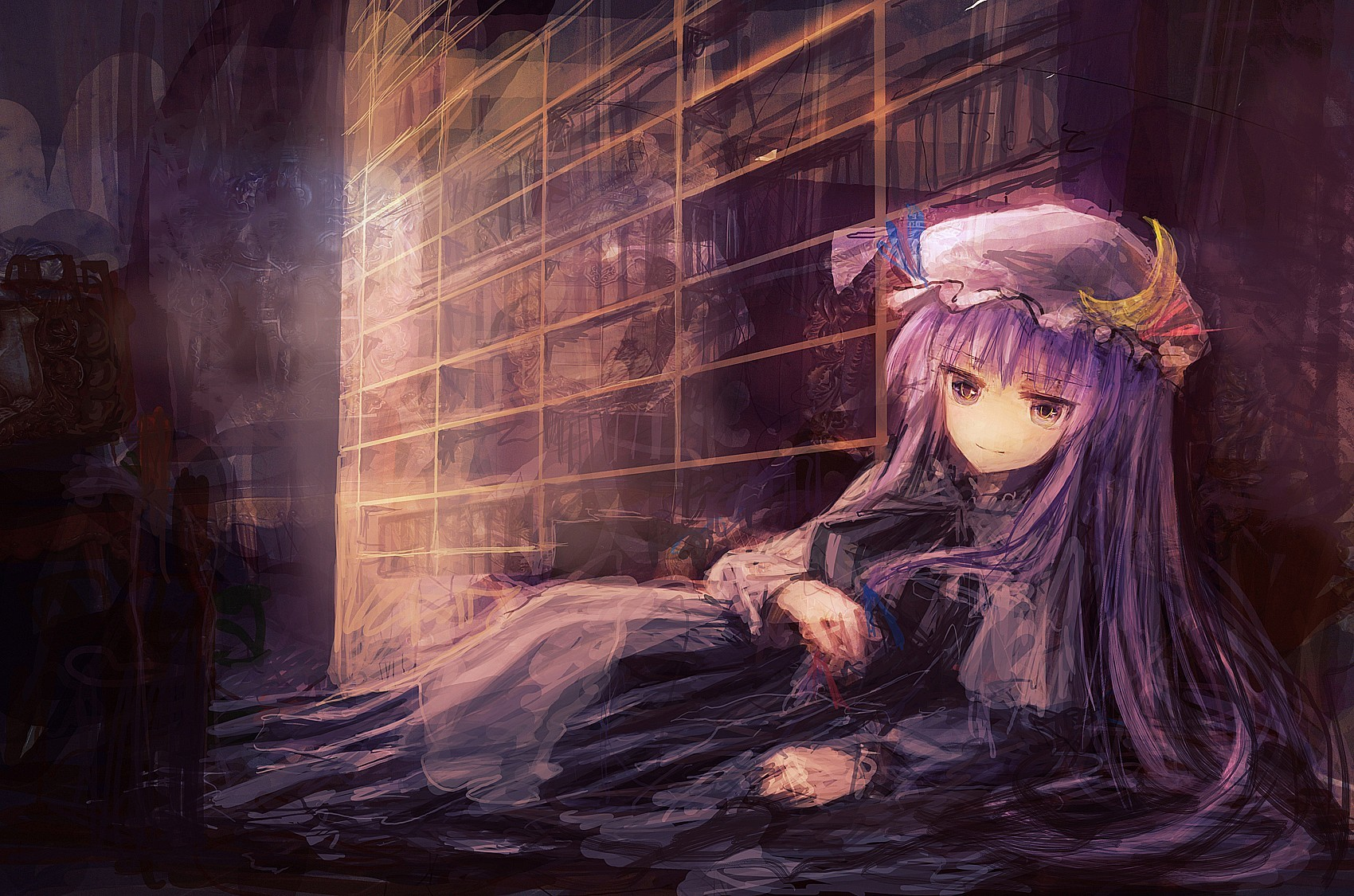 video games touhou moon HD Wallpaper