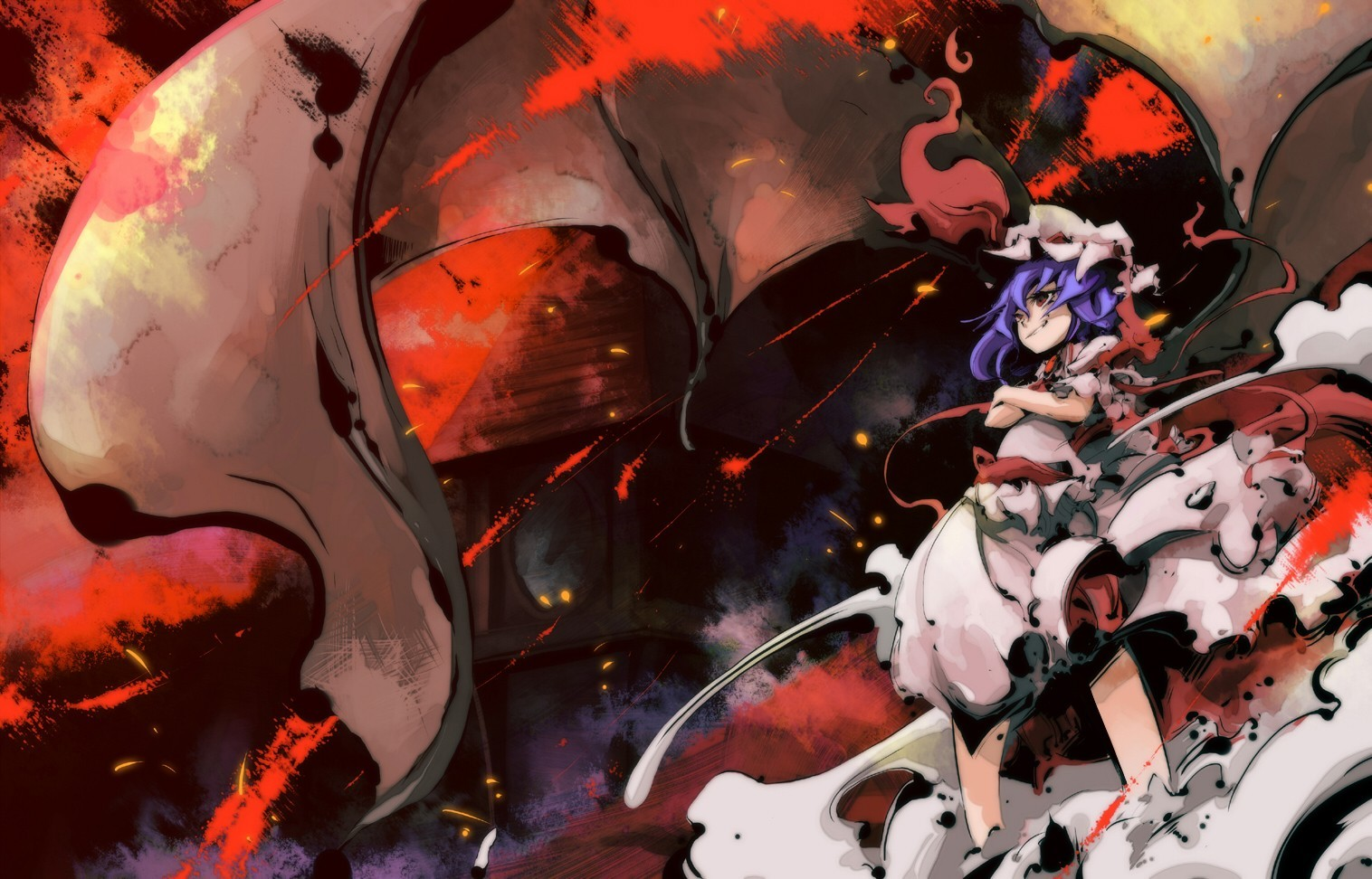 video games touhou wings HD Wallpaper