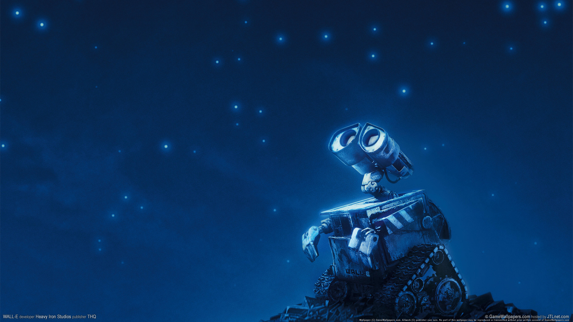 video Games wall-e game HD Wallpaper