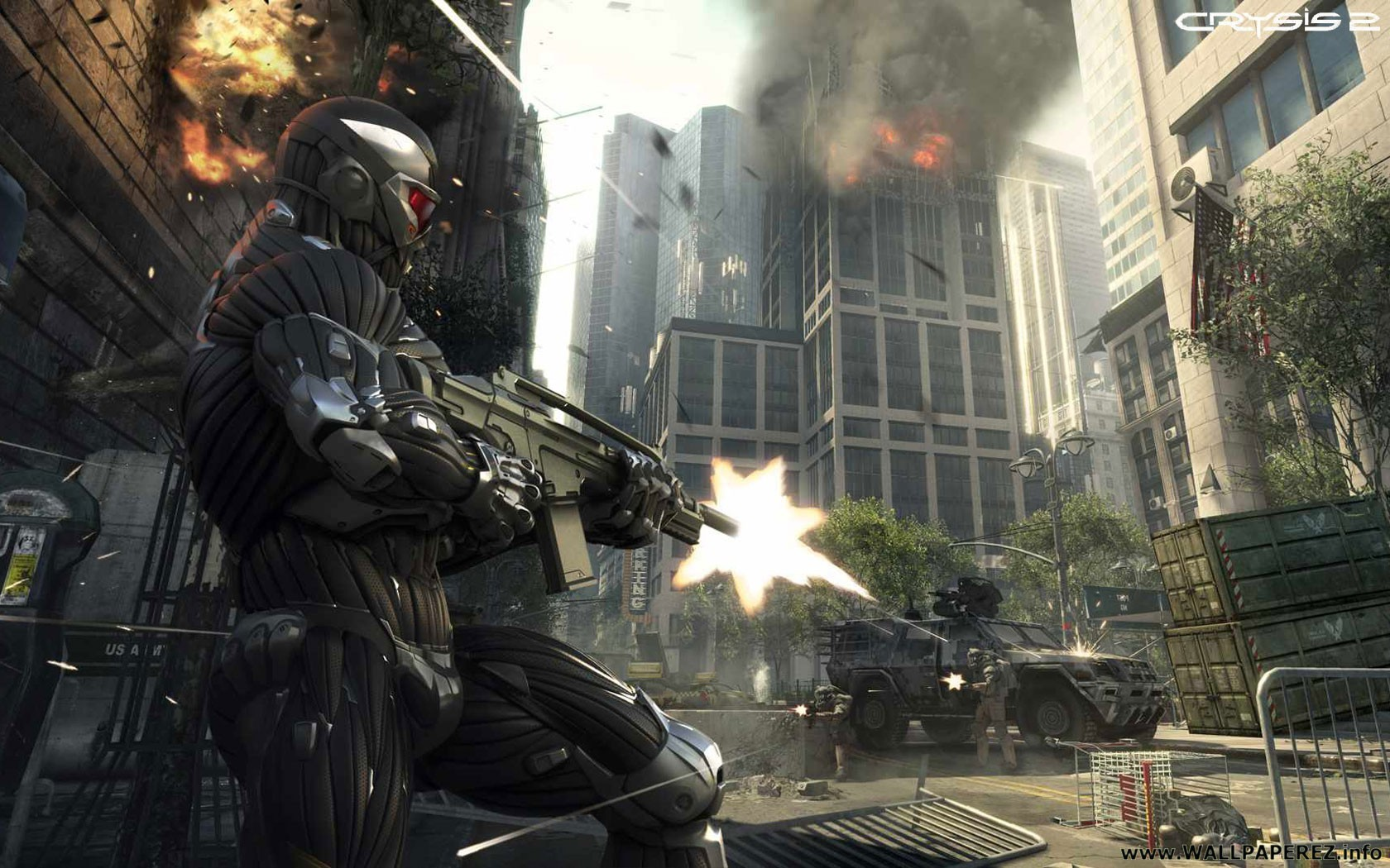 video games War crysis HD Wallpaper