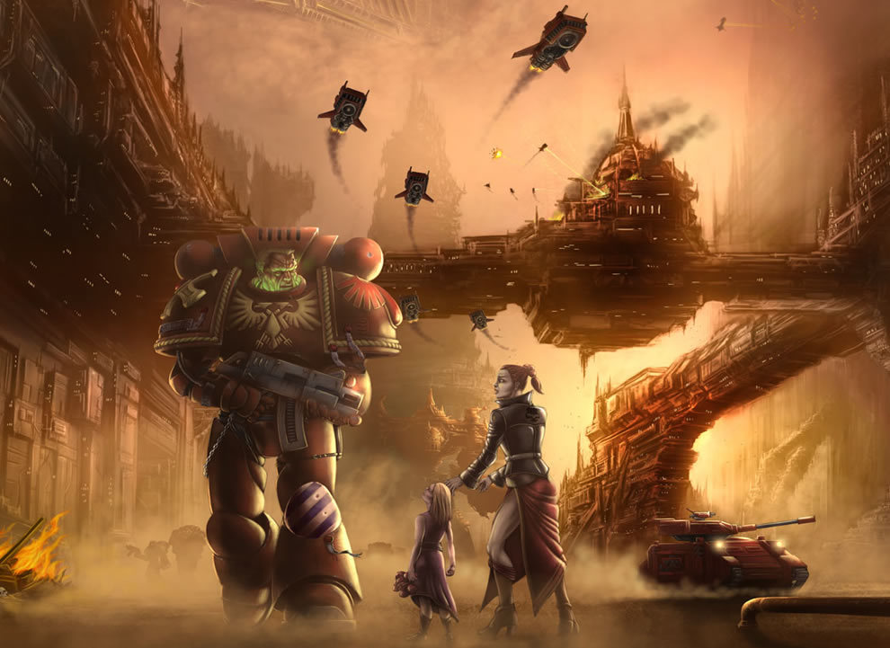 video games warhammer Dawn HD Wallpaper