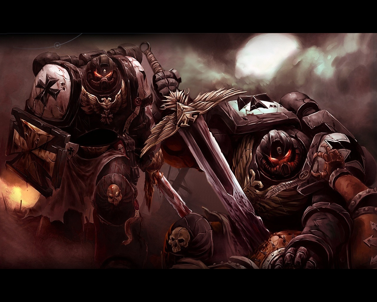 video games warhammer Space HD Wallpaper