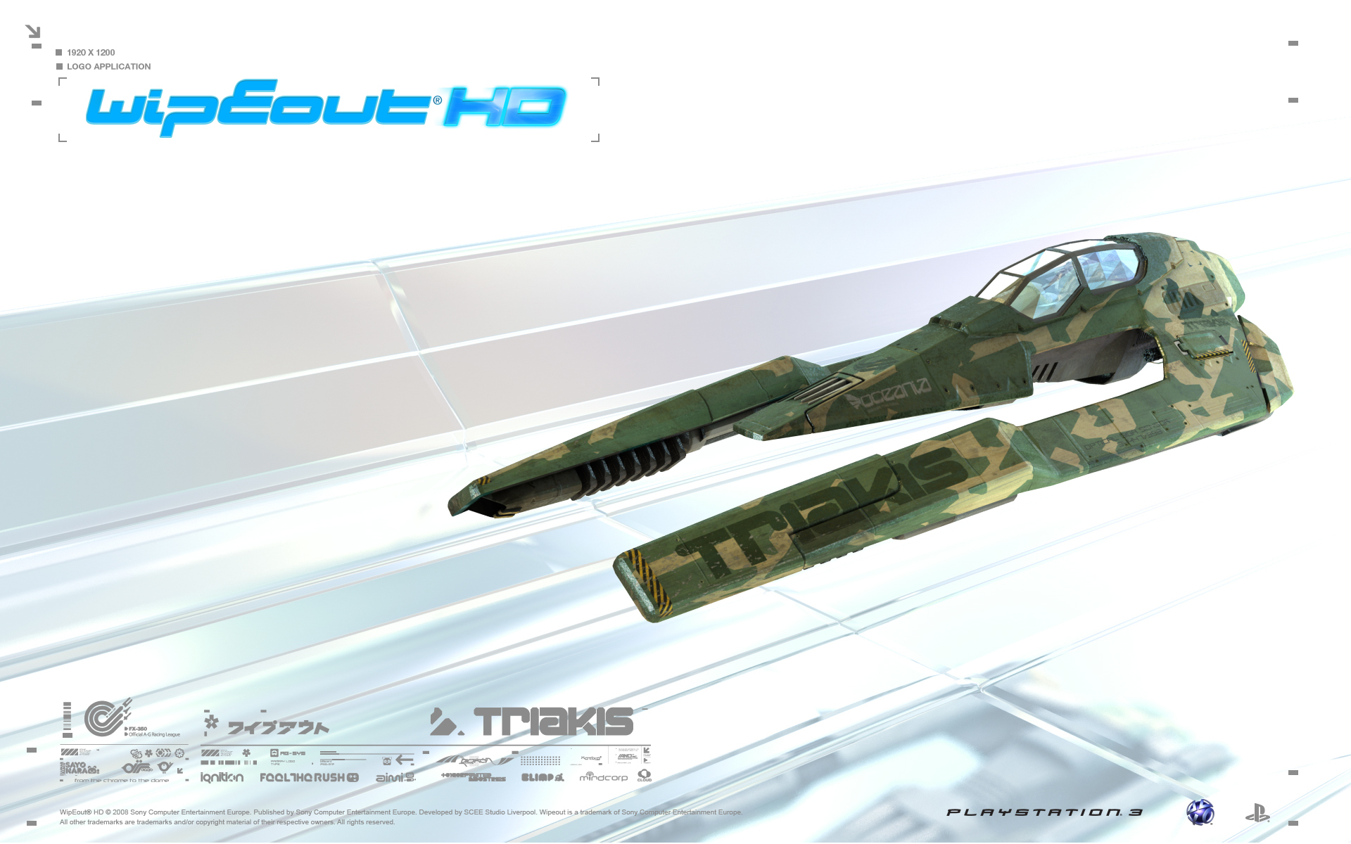 video games Wipeout HD Wallpaper