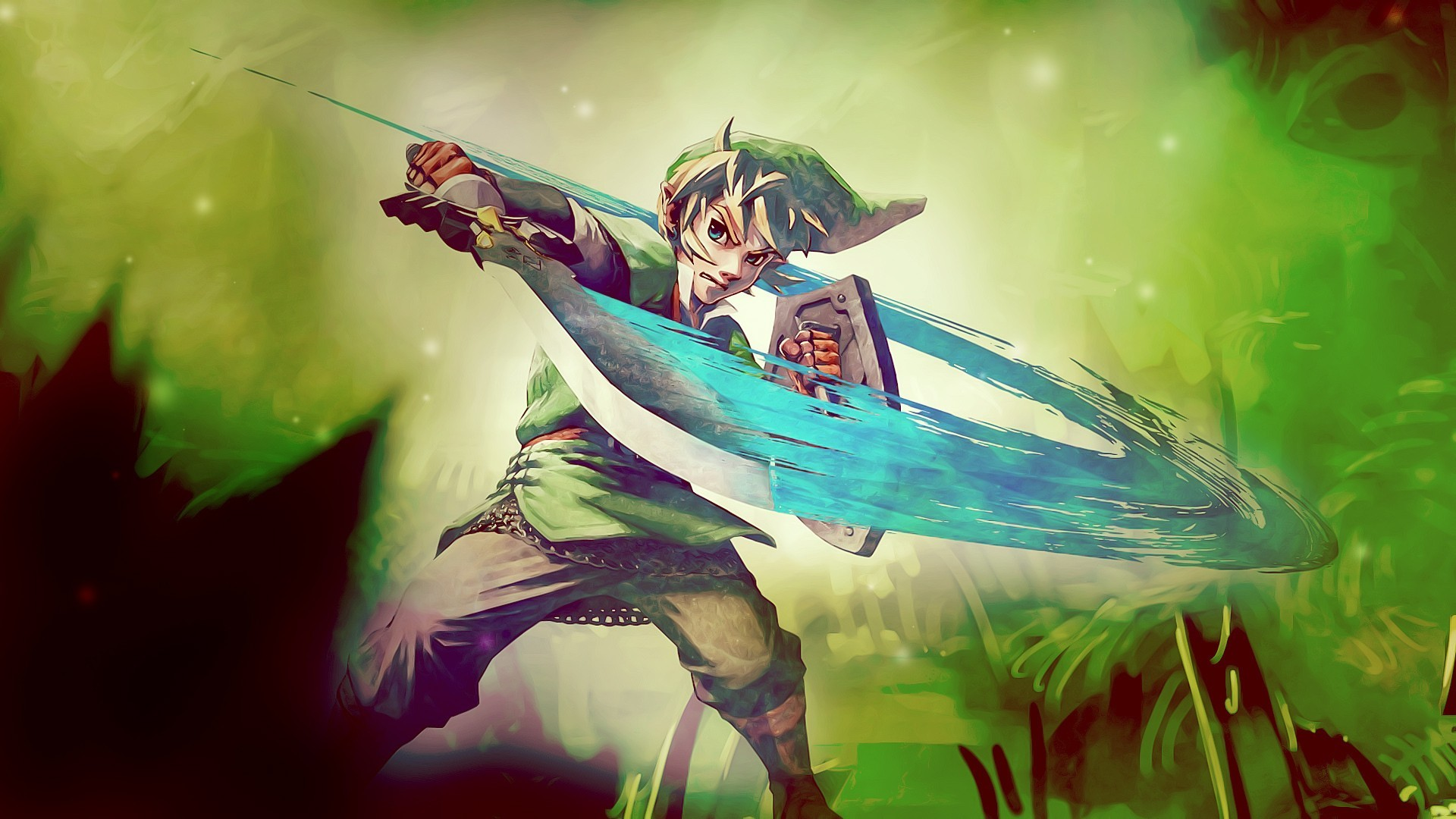 video games zelda HD Wallpaper