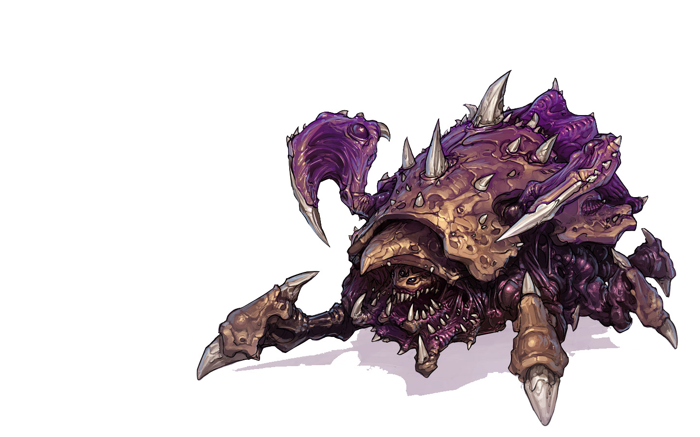 video Games Zerg artwork HD Wallpaper