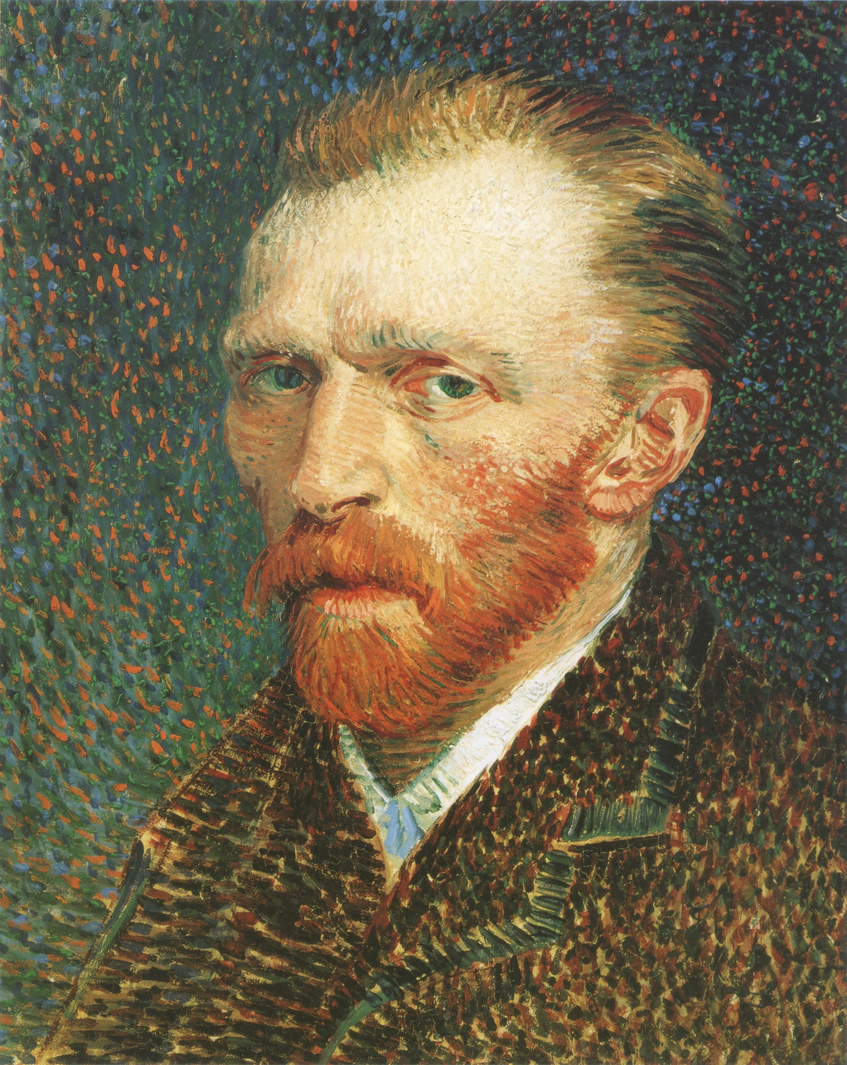Vincent van Gogh artwork self portrait