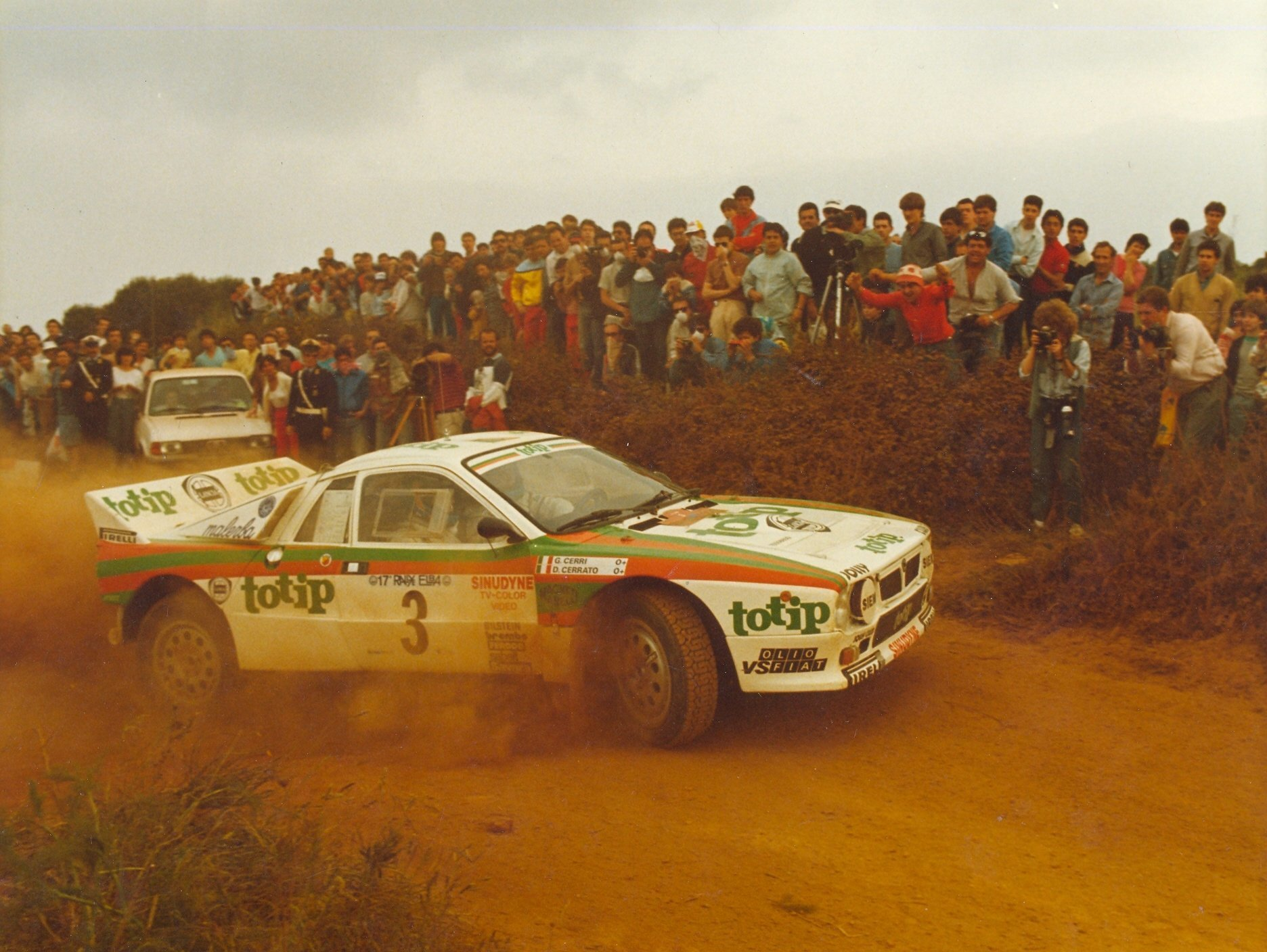 vintage rally Lancia Lancia HD Wallpaper